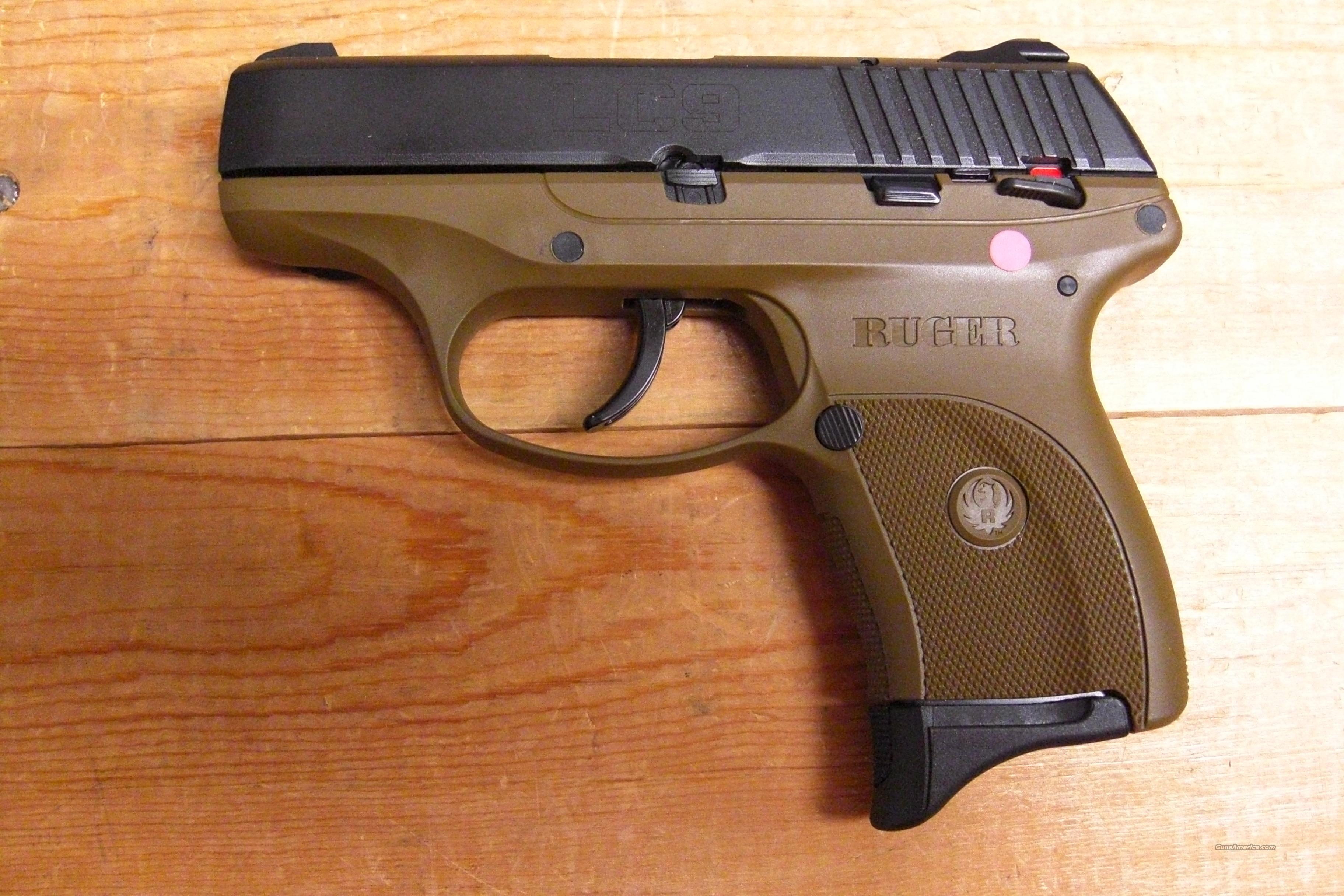 LC9 w/black slide and flat dark earth frame  Guns > Pistols > Ruger Semi-Auto Pistols > LC9