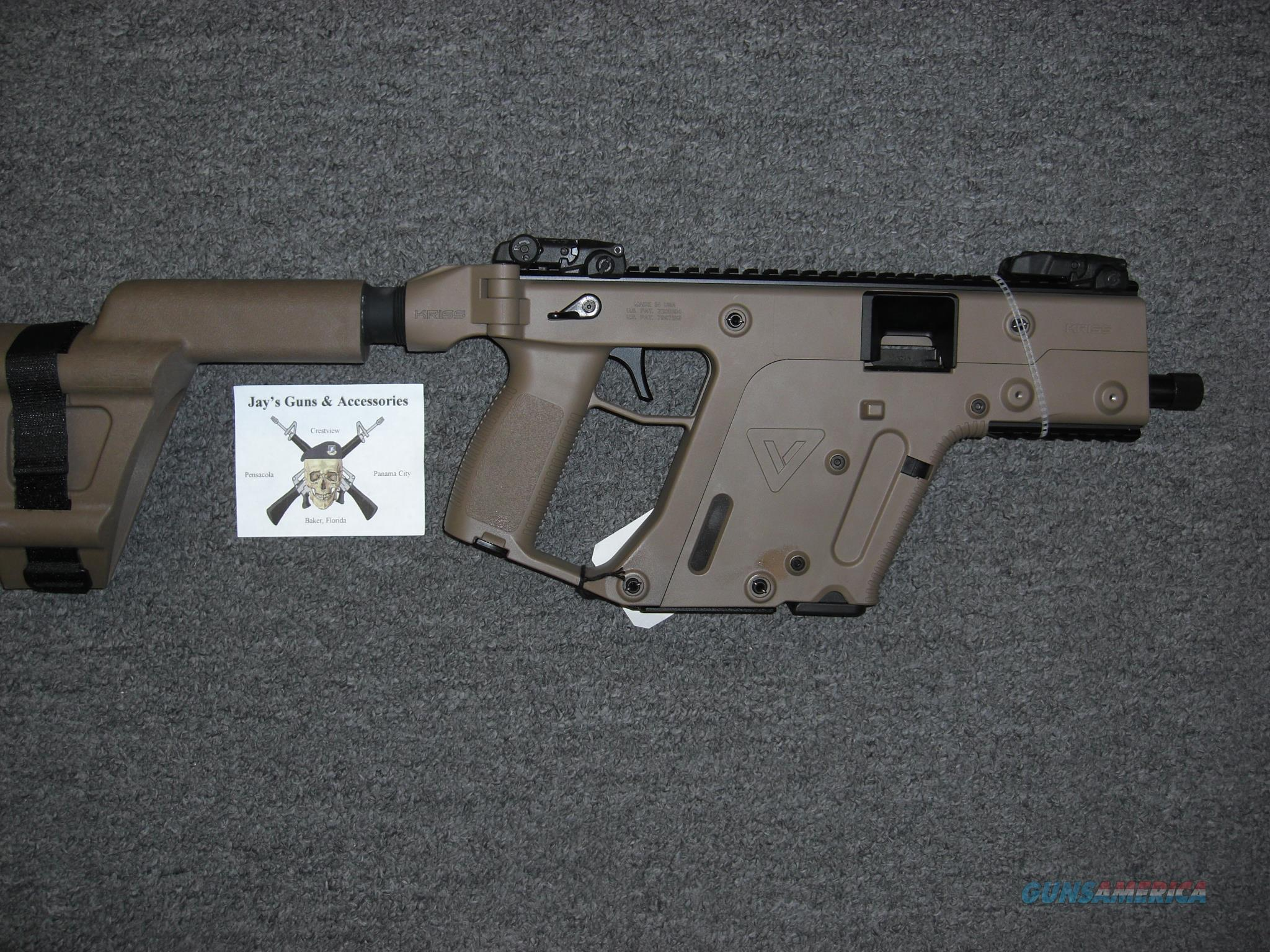Kriss Vector SDP Gen 2 w/Arm Brace Uses Glock 17 Mags  Guns > Pistols > Kriss Tactical Pistols