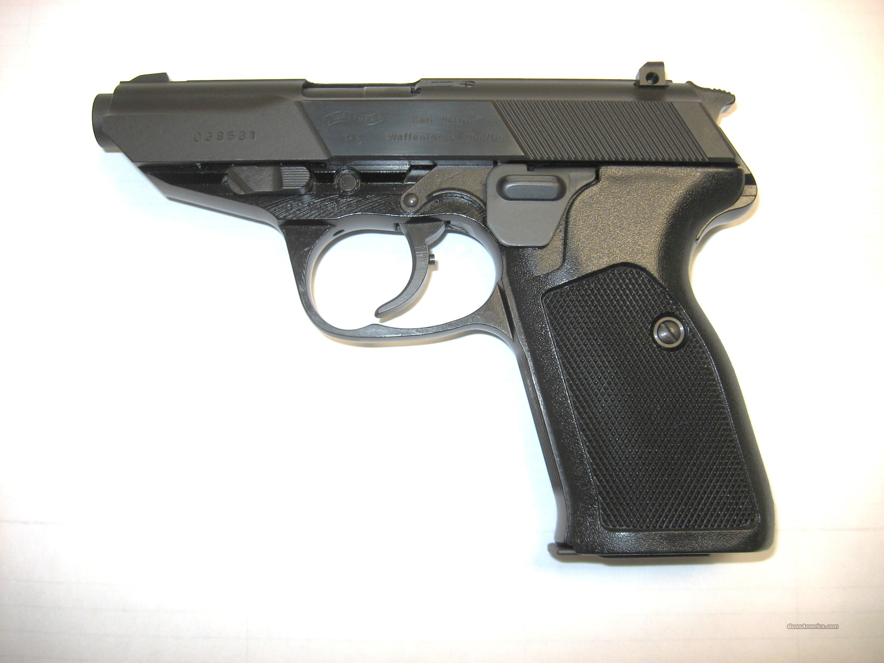 Walther P5  Guns > Pistols > Walther Pistols > Post WWII > Large Frame Autos
