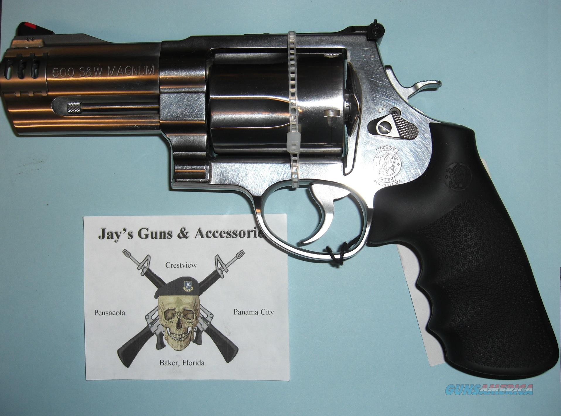 Smith & Wesson 500 in .500 S&W Mag  Guns > Pistols > Smith & Wesson Revolvers > Full Frame Revolver