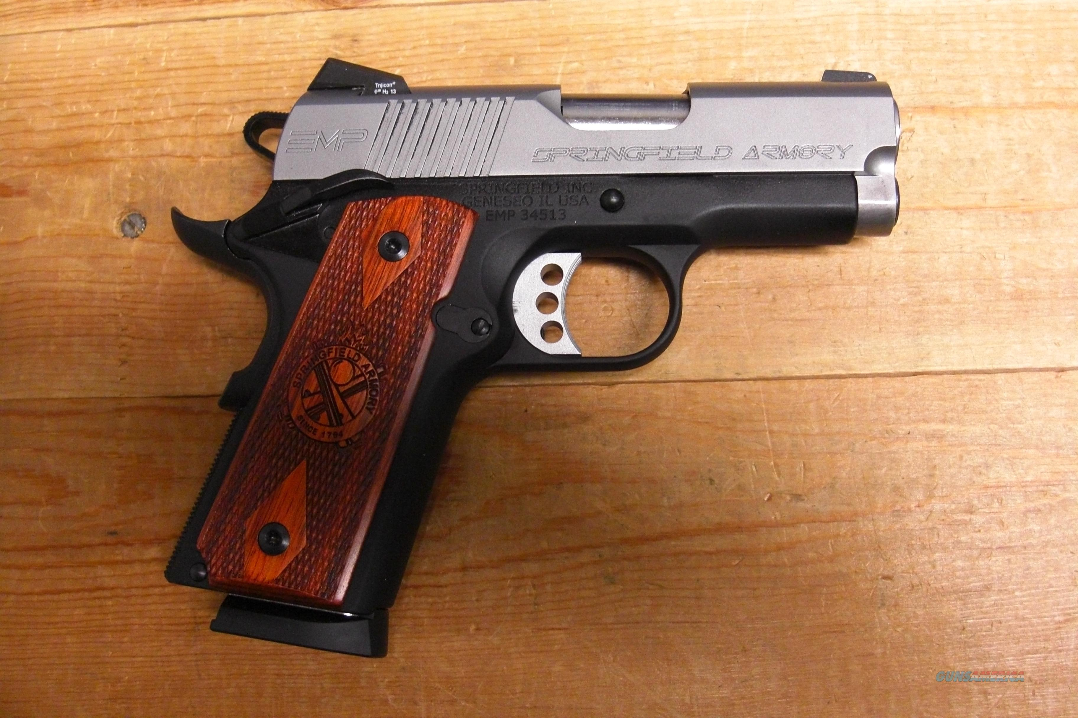 EMP  9mm  w/night sights  Guns > Pistols > Springfield Armory Pistols > 1911 Type