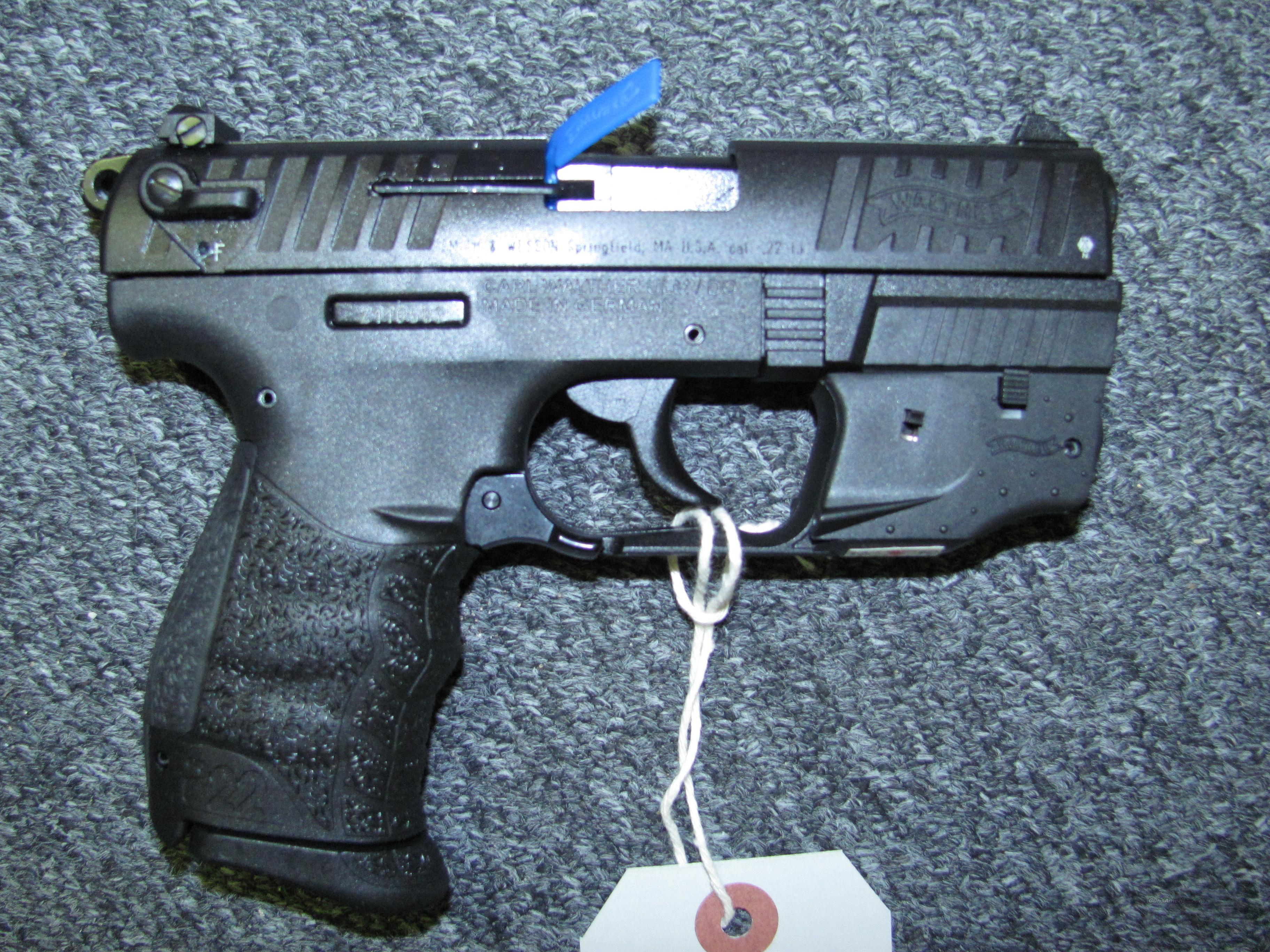 P22 w/laser & threaded barrel  Guns > Pistols > Walther Pistols > Post WWII > P22