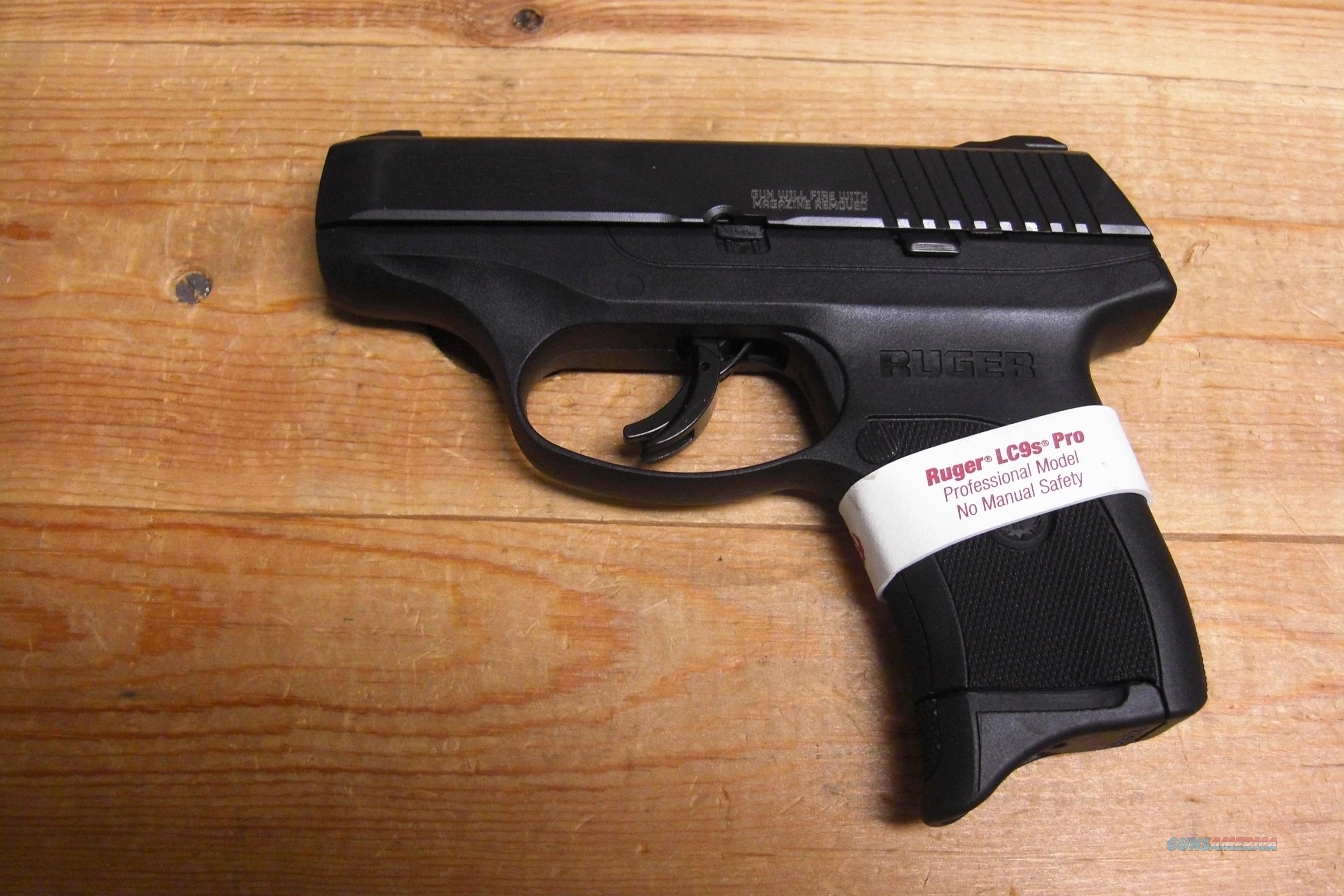Ruger LC9S Pro w/all black finish  Guns > Pistols > Ruger Semi-Auto Pistols > LCP