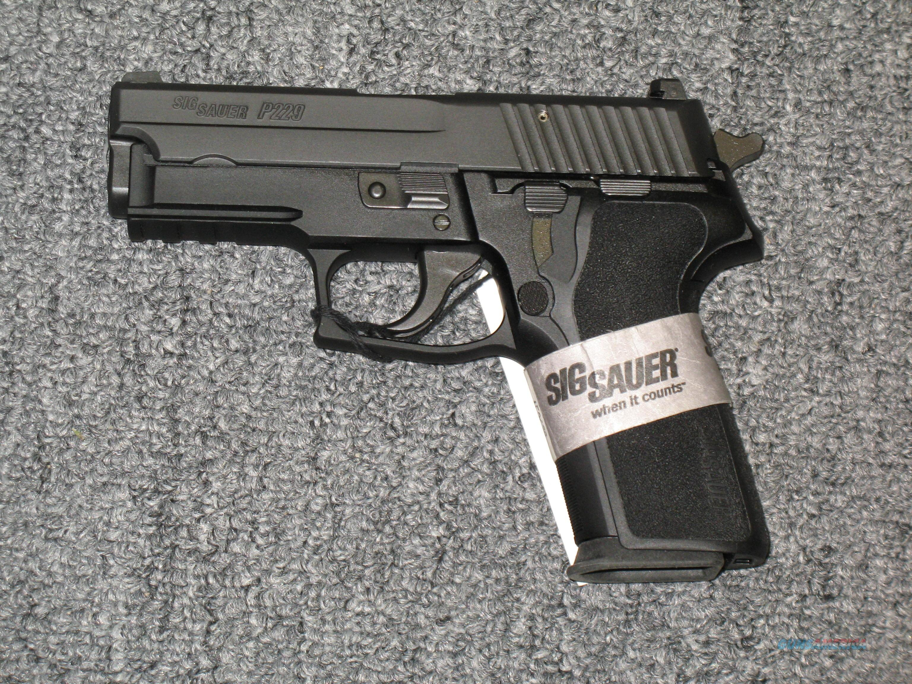 "P229R w/3.9"" bbl. all black .40s&w w/night sights  Guns > Pistols > Sig - Sauer/Sigarms Pistols > P229"