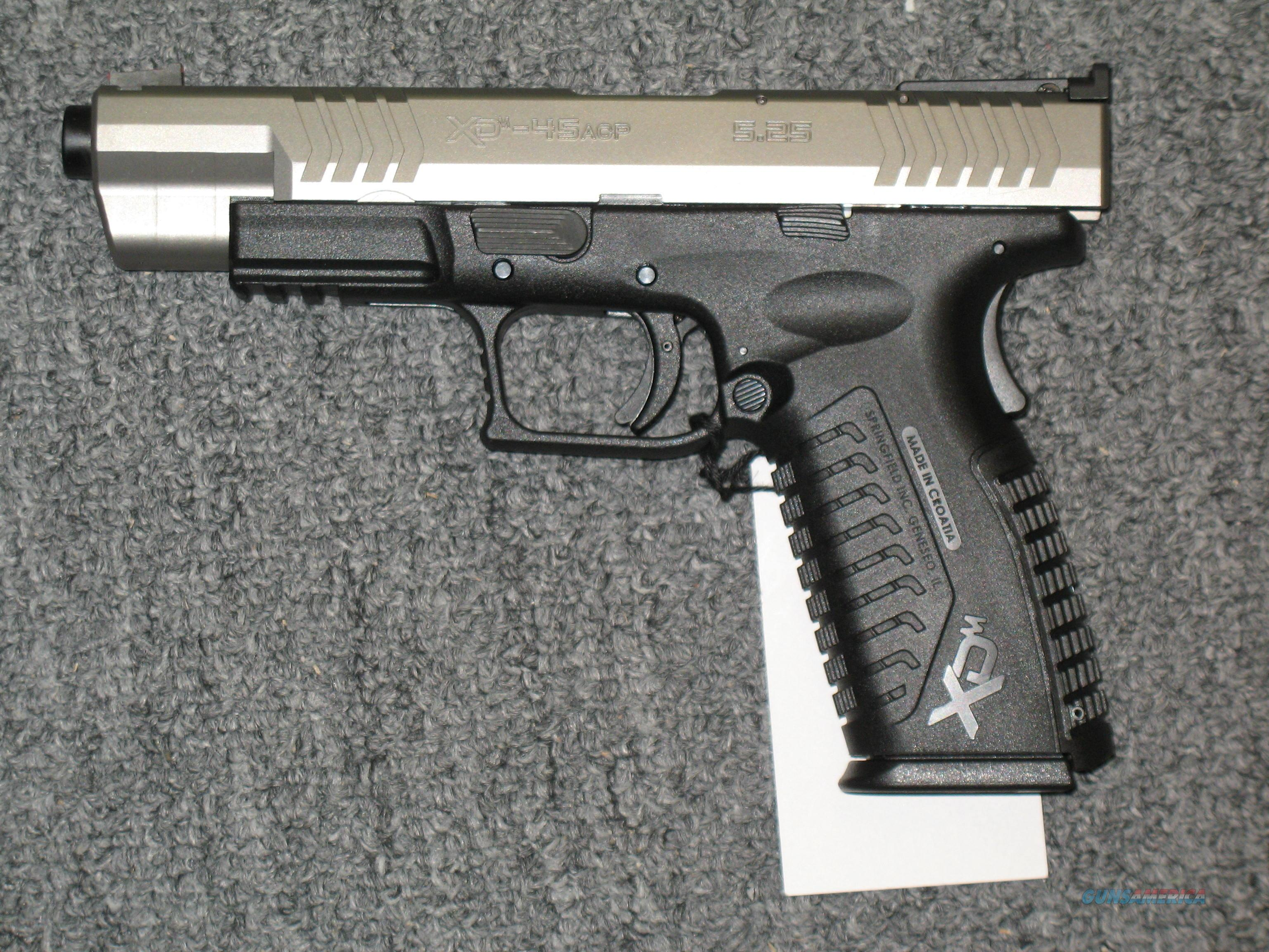 XDM-45  5.25 Competition Series (2 tone stainless)  Guns > Pistols > Springfield Armory Pistols > XD-M