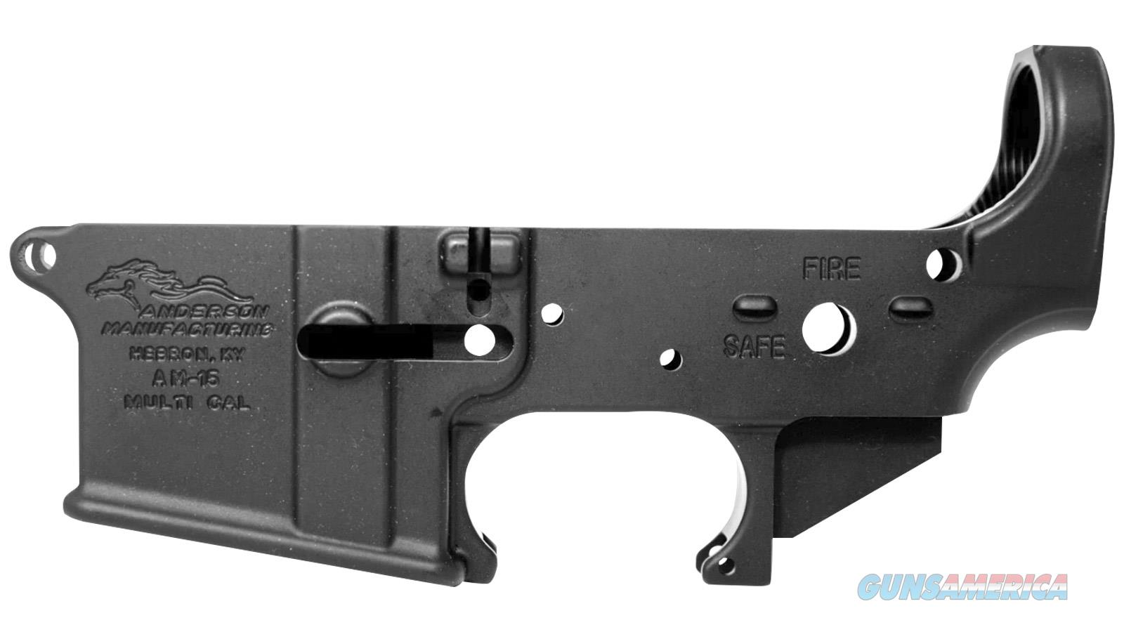 Anderson Mfg AM-15 Lower (D2-K067-A000-0P)  Guns > Rifles > AR-15 Rifles - Small Manufacturers > Lower Only