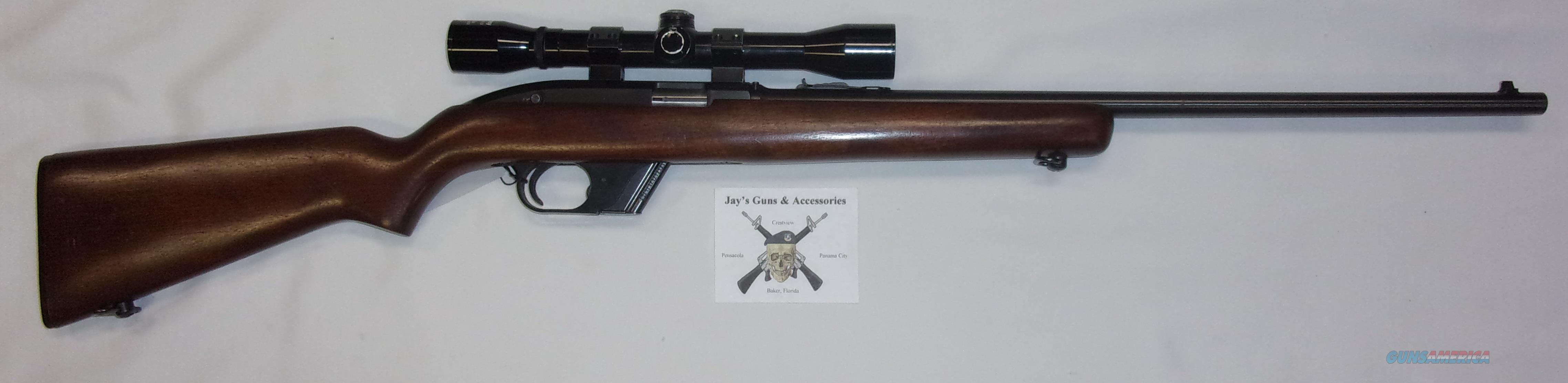 Winchester 77 w/Scope  Guns > Rifles > Winchester Rifles - Modern Bolt/Auto/Single > .22 Boys Rifles