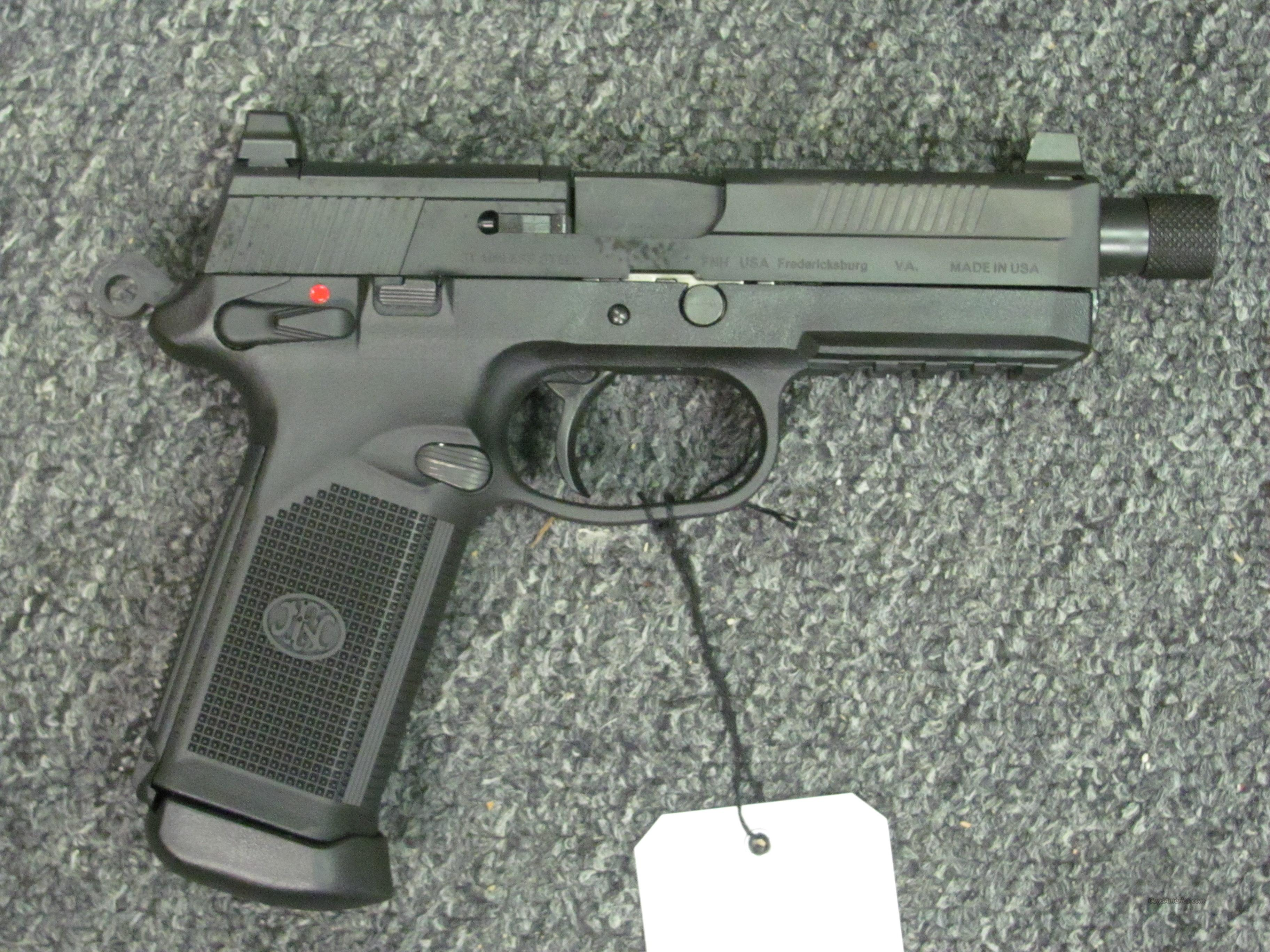 FNX 45 Tactical w/3 15 rd mags  Guns > Pistols > FNH - Fabrique Nationale (FN) Pistols > FNP