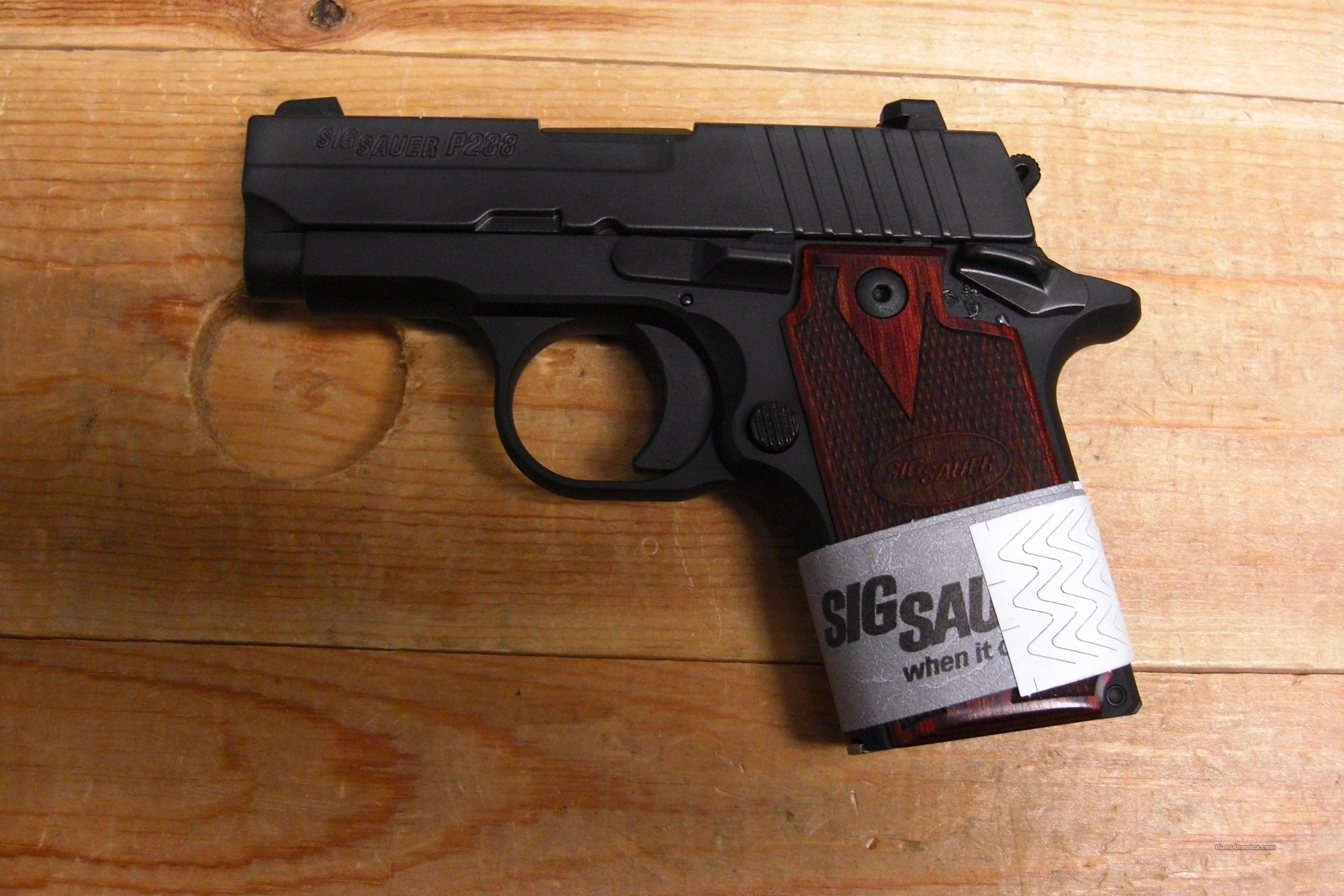 P238 w/night sights, rosewood grips  Guns > Pistols > Sig - Sauer/Sigarms Pistols > Other