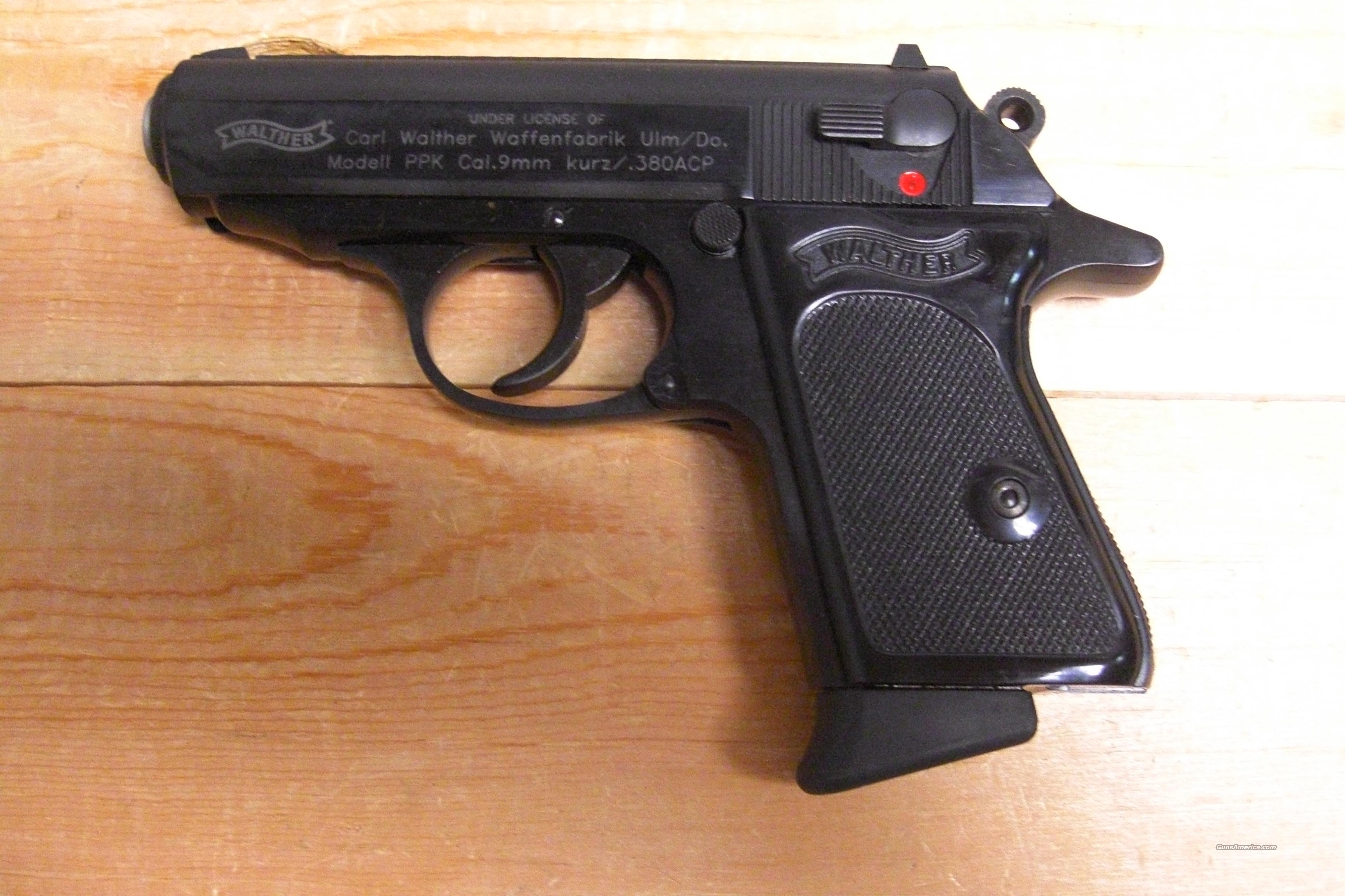 PPK Blued .380acp  Guns > Pistols > Walther Pistols > Post WWII > PPK Series