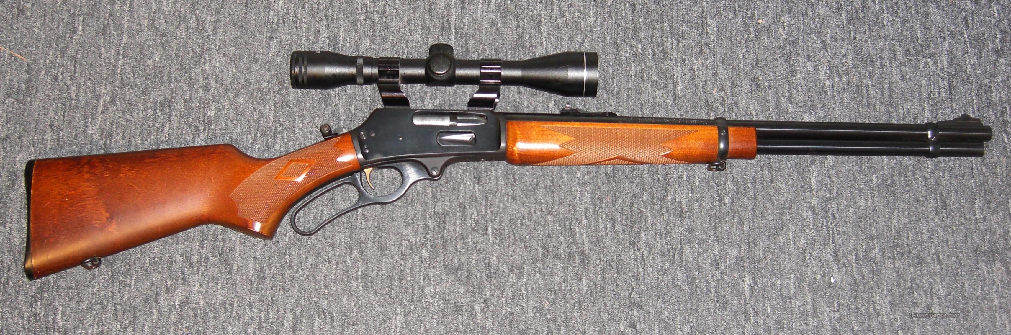 336W w/4x Tasco scope  Guns > Rifles > Marlin Rifles > Modern > Lever Action