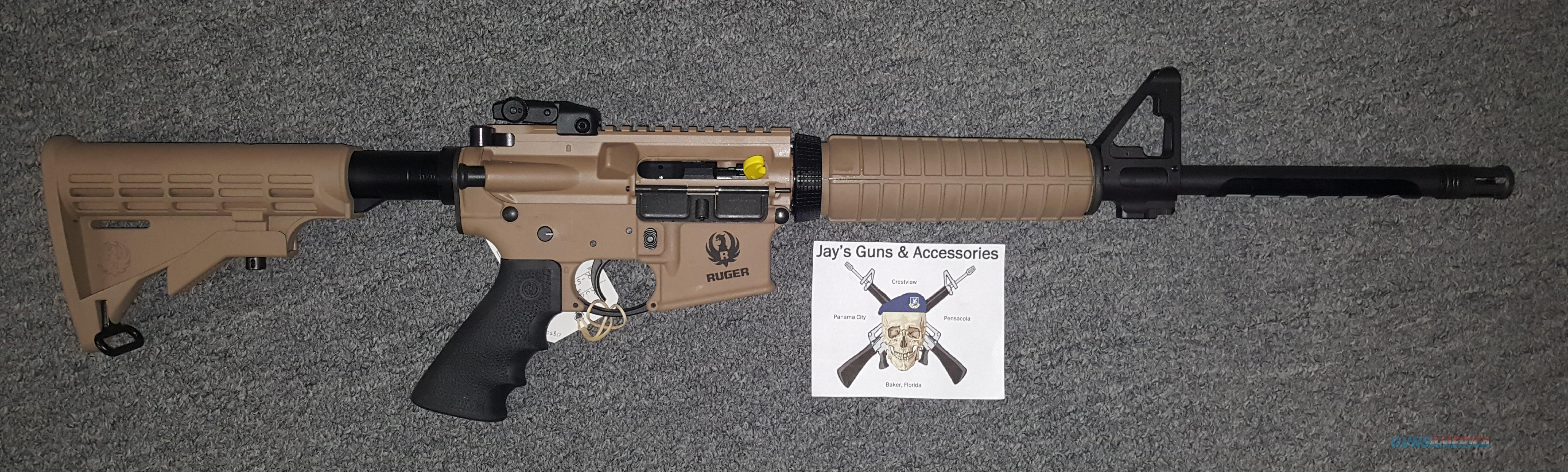 Ruger AR-556 (08503) w/Patriot Brown Finish  Guns > Rifles > Ruger Rifles > AR Series
