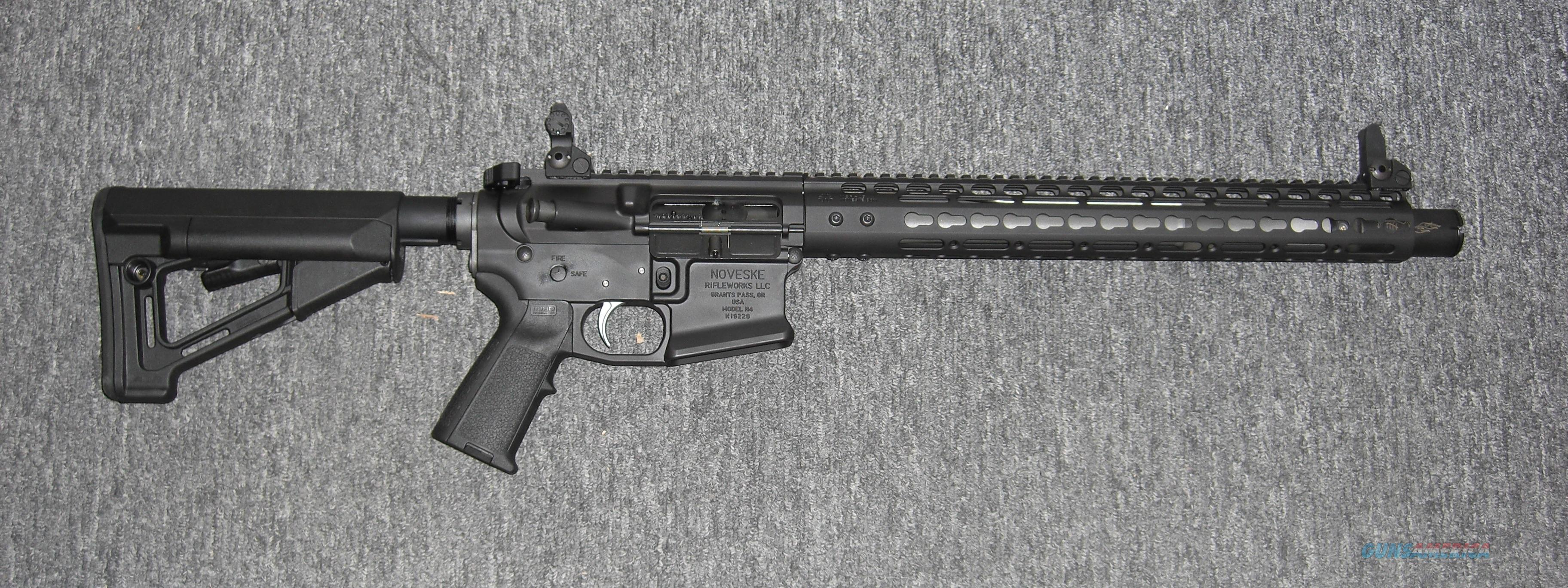"Noveske N4 w/13.7"" bbl., permanently affixed Flaming Pig flash suppressor  Guns > Rifles > AR-15 Rifles - Small Manufacturers > Complete Rifle"