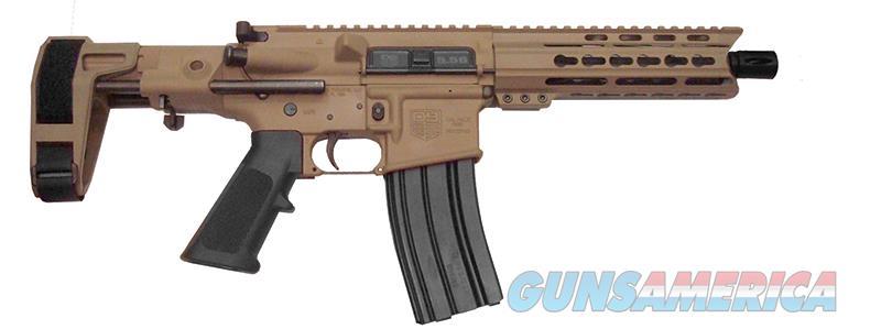 Diamondback DB15 (DB15PCFDE7M) w/Arm Brace & FDE Finish  Guns > Pistols > Diamondback Pistols