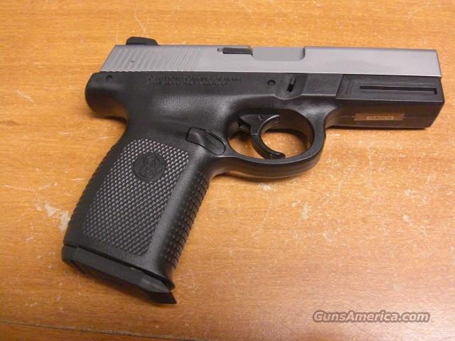 SW40VE  w/stainless slide   Guns > Pistols > Smith & Wesson Pistols - Autos > Polymer Frame