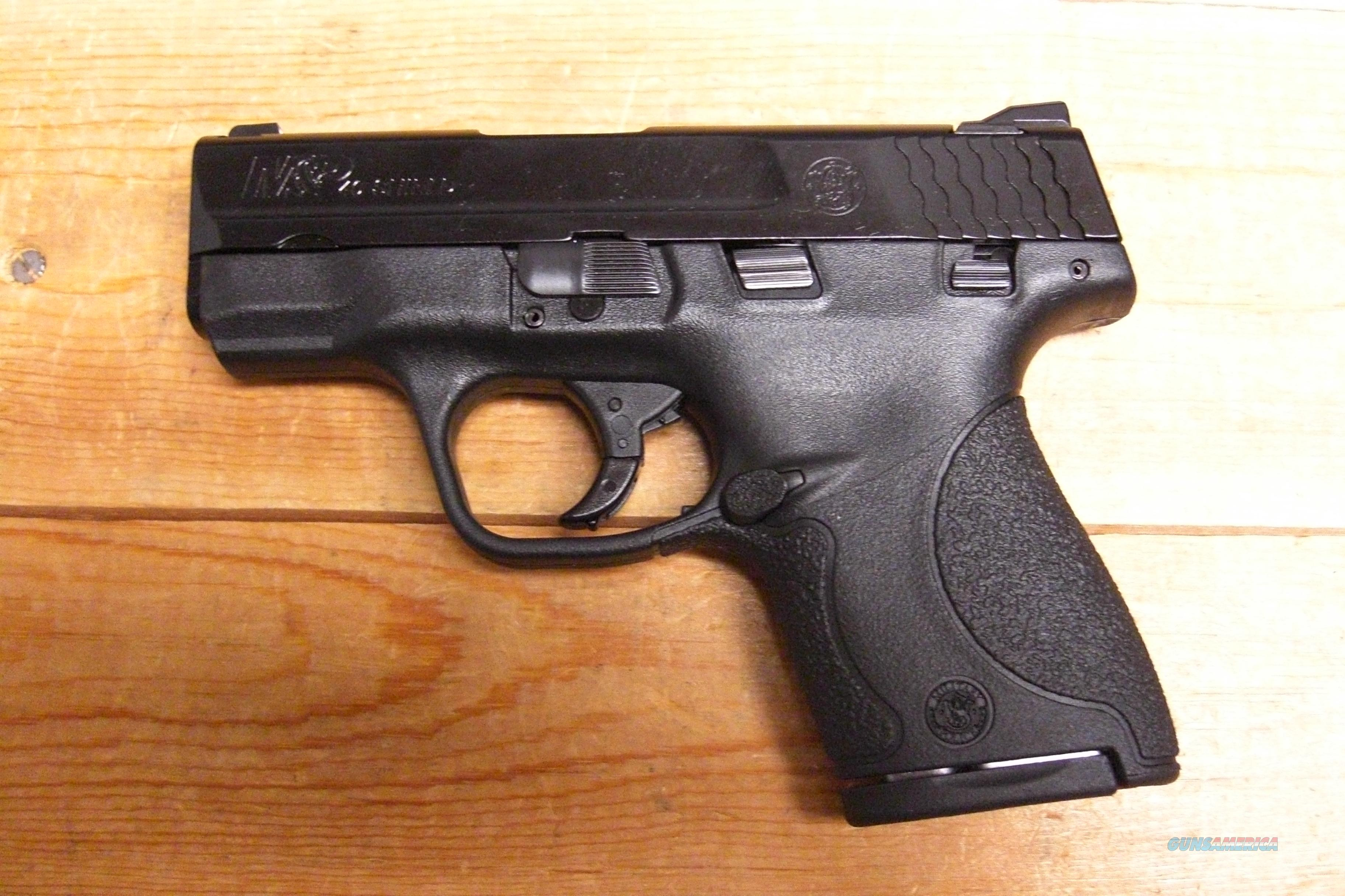 M & P 40 Shield with thumb safety  Guns > Pistols > Smith & Wesson Pistols - Autos > Polymer Frame