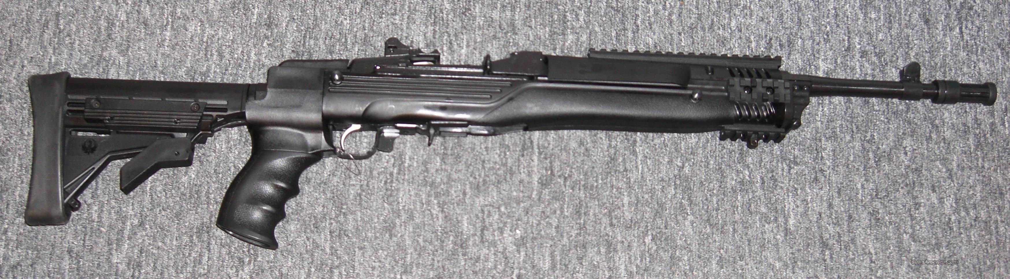 Mini 14 Tactical  w/20 rd. mag.  Guns > Rifles > Ruger Rifles > Mini-14 Type