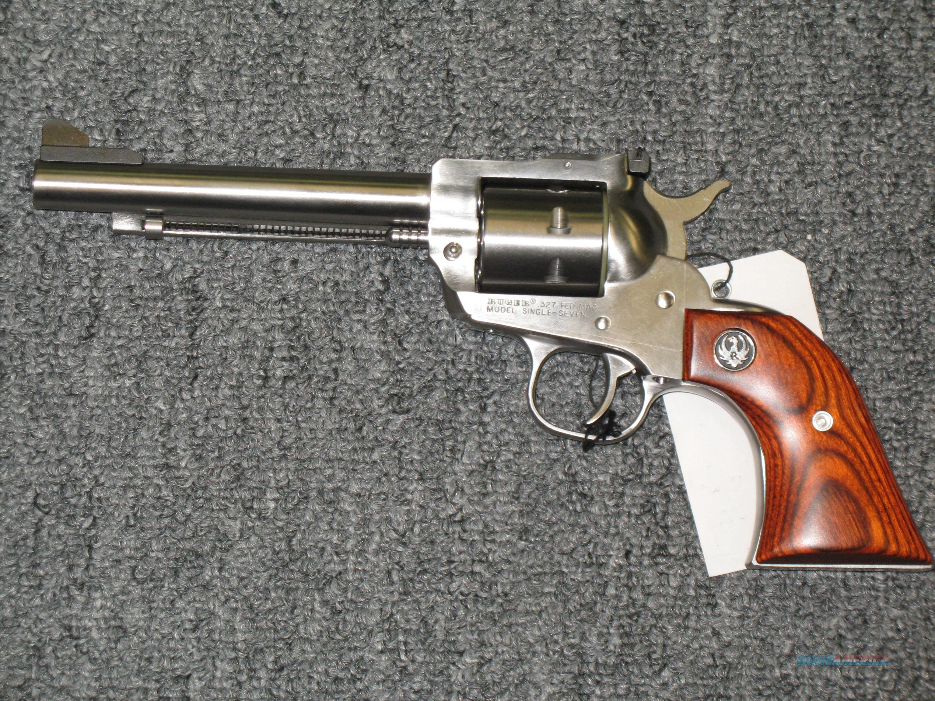 "Single Seven .327 FED MAG 5 1/2""  stainless bbl  Guns > Pistols > Ruger Single Action Revolvers > Single Six Type"