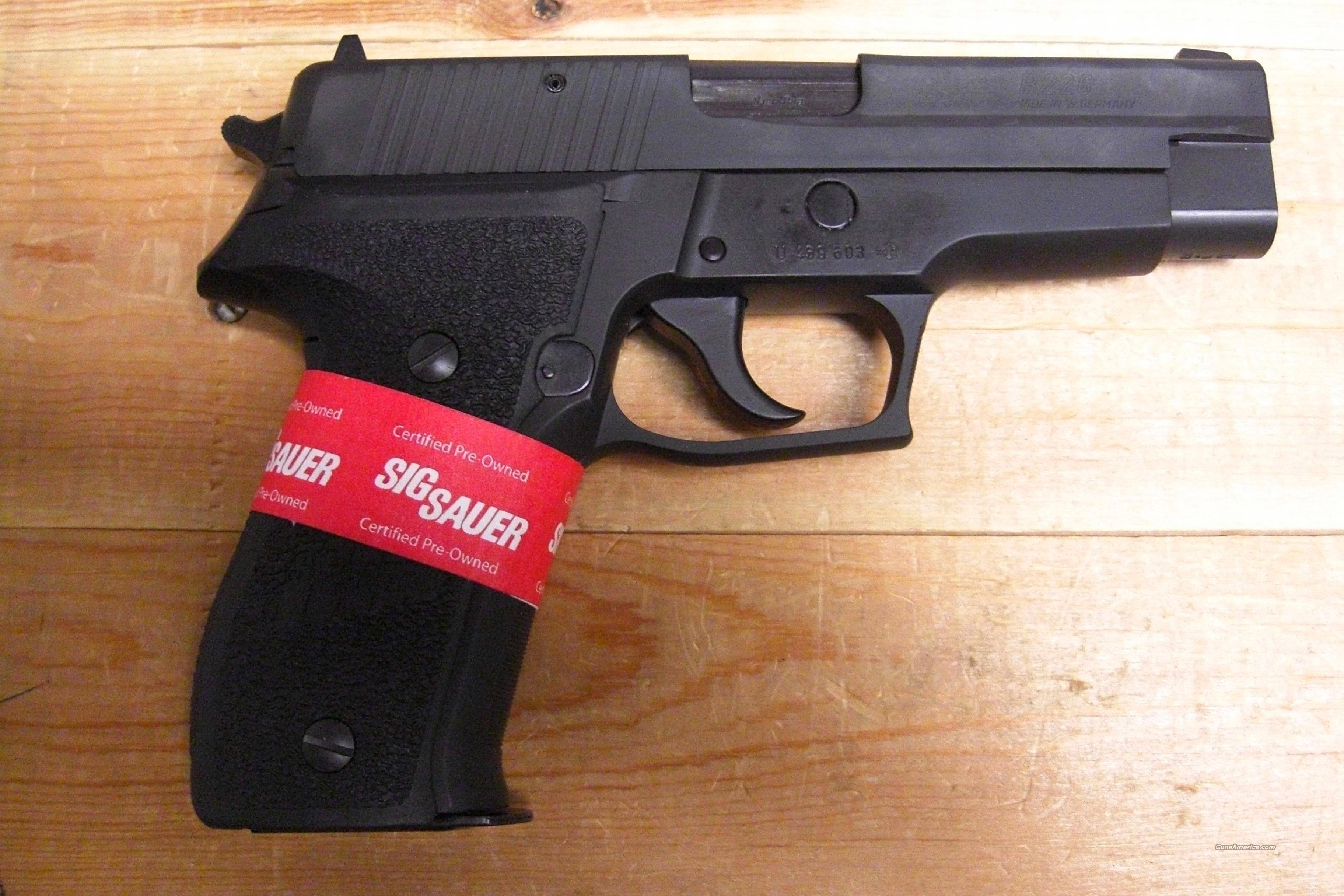 P226 factory refurbished  Guns > Pistols > Sig - Sauer/Sigarms Pistols > P226