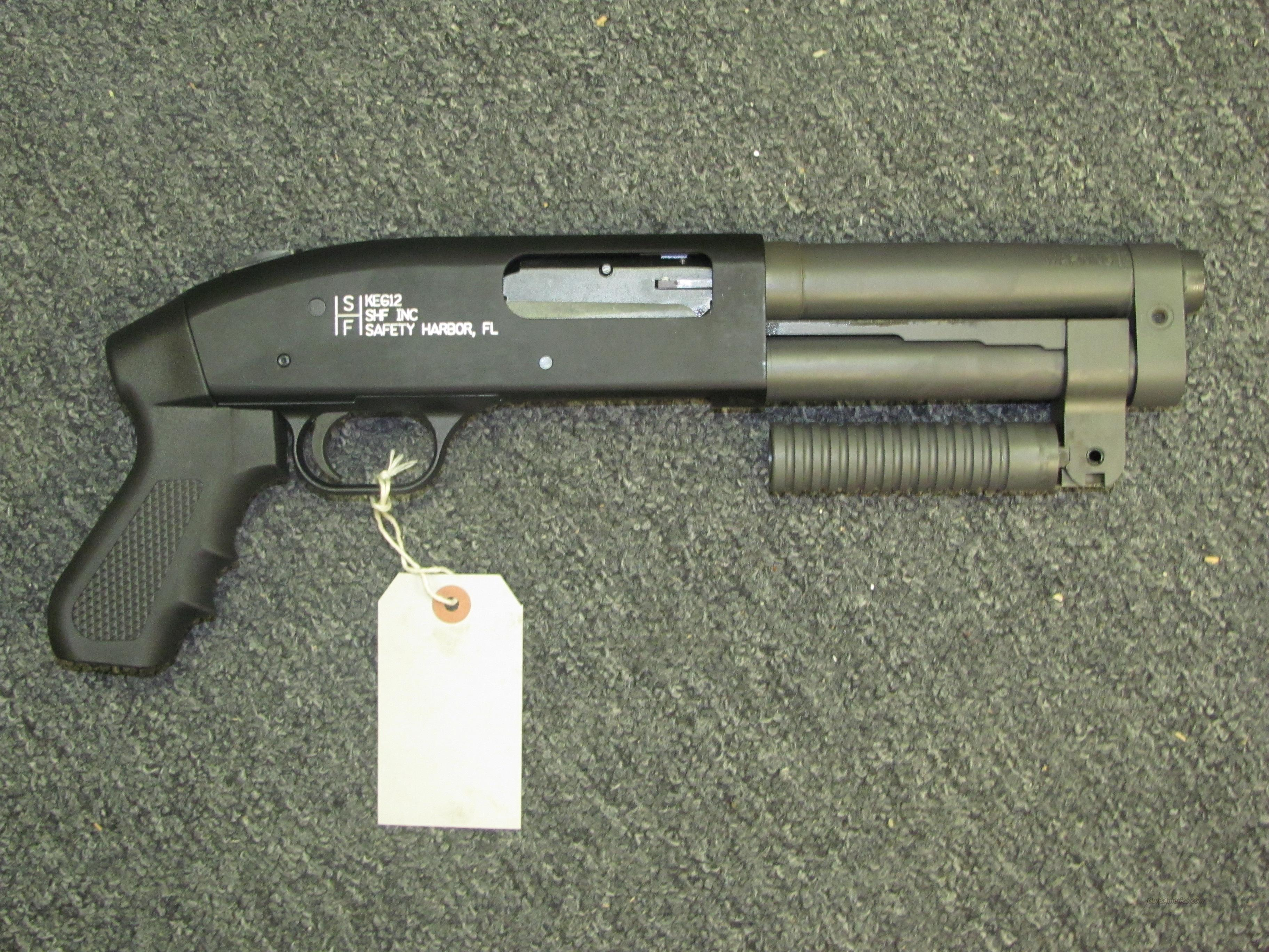 Safety Harbor Firearms KEG12 (Class III AOW)  Guns > Shotguns > Class 3 Shotguns > Class 3 Any Other Weapon