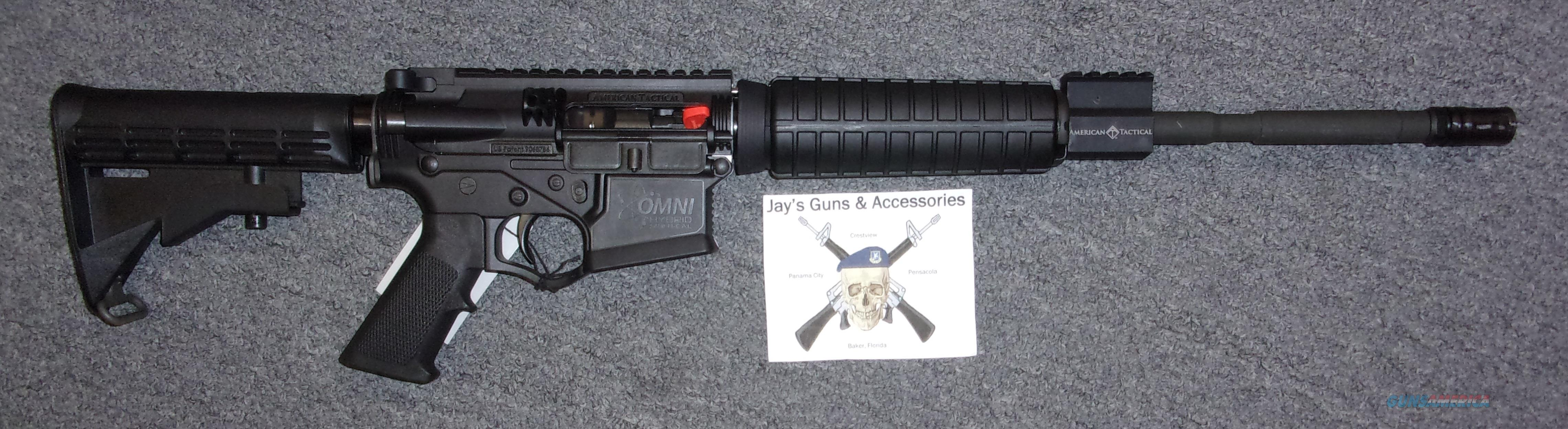 American Tactical OMNI Maxx Hybrid  Guns > Rifles > American Tactical Imports Rifles