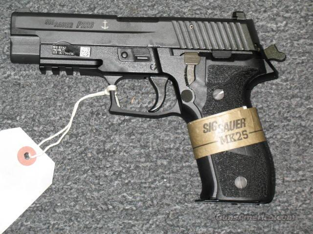 P226R Navy Mk 25 w/3 15 rd mags  Guns > Pistols > Sig - Sauer/Sigarms Pistols > P226