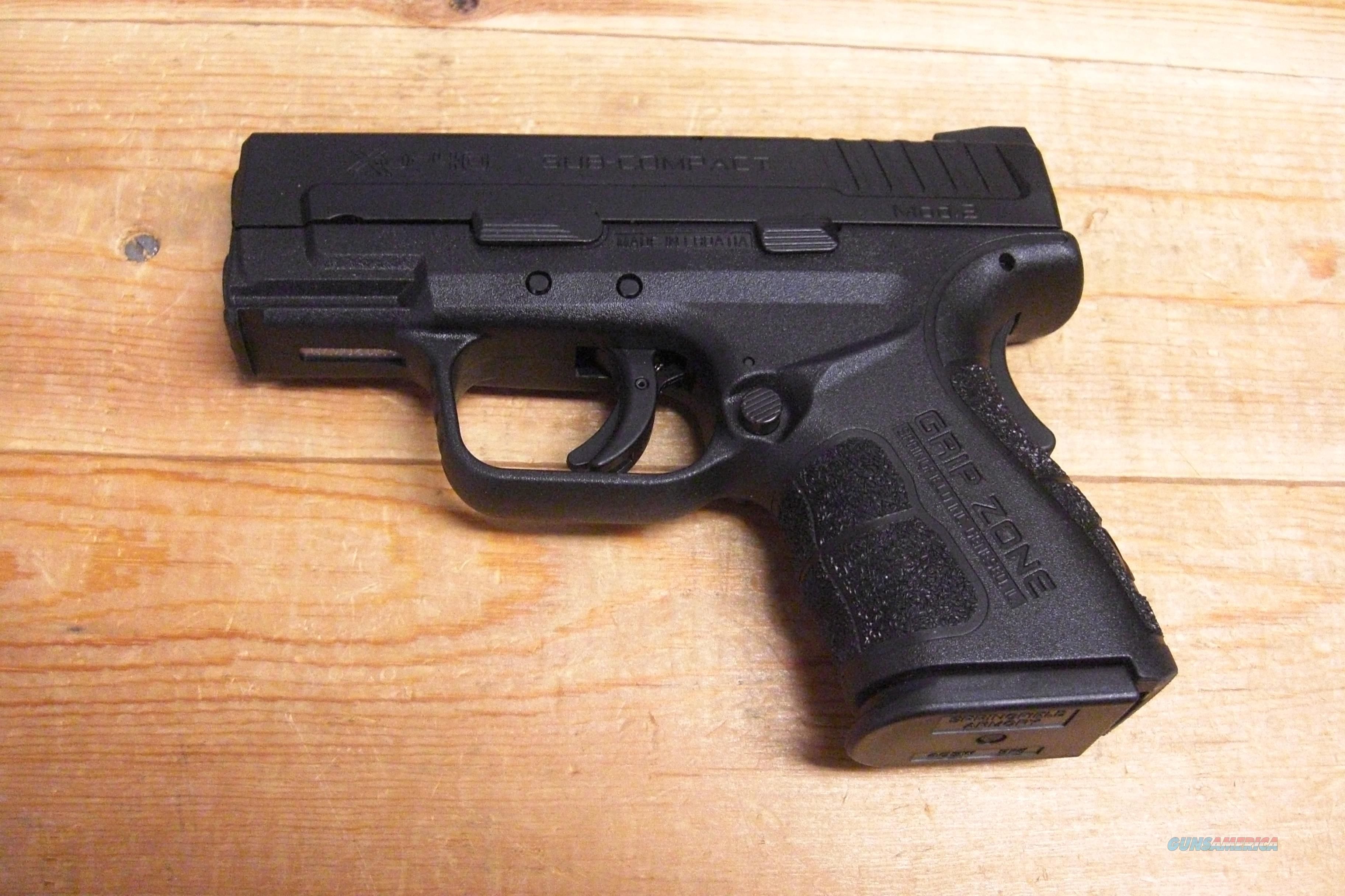 XD-40 Sub Compact MOD 2 all black   Guns > Pistols > Springfield Armory Pistols > XD (eXtreme Duty)
