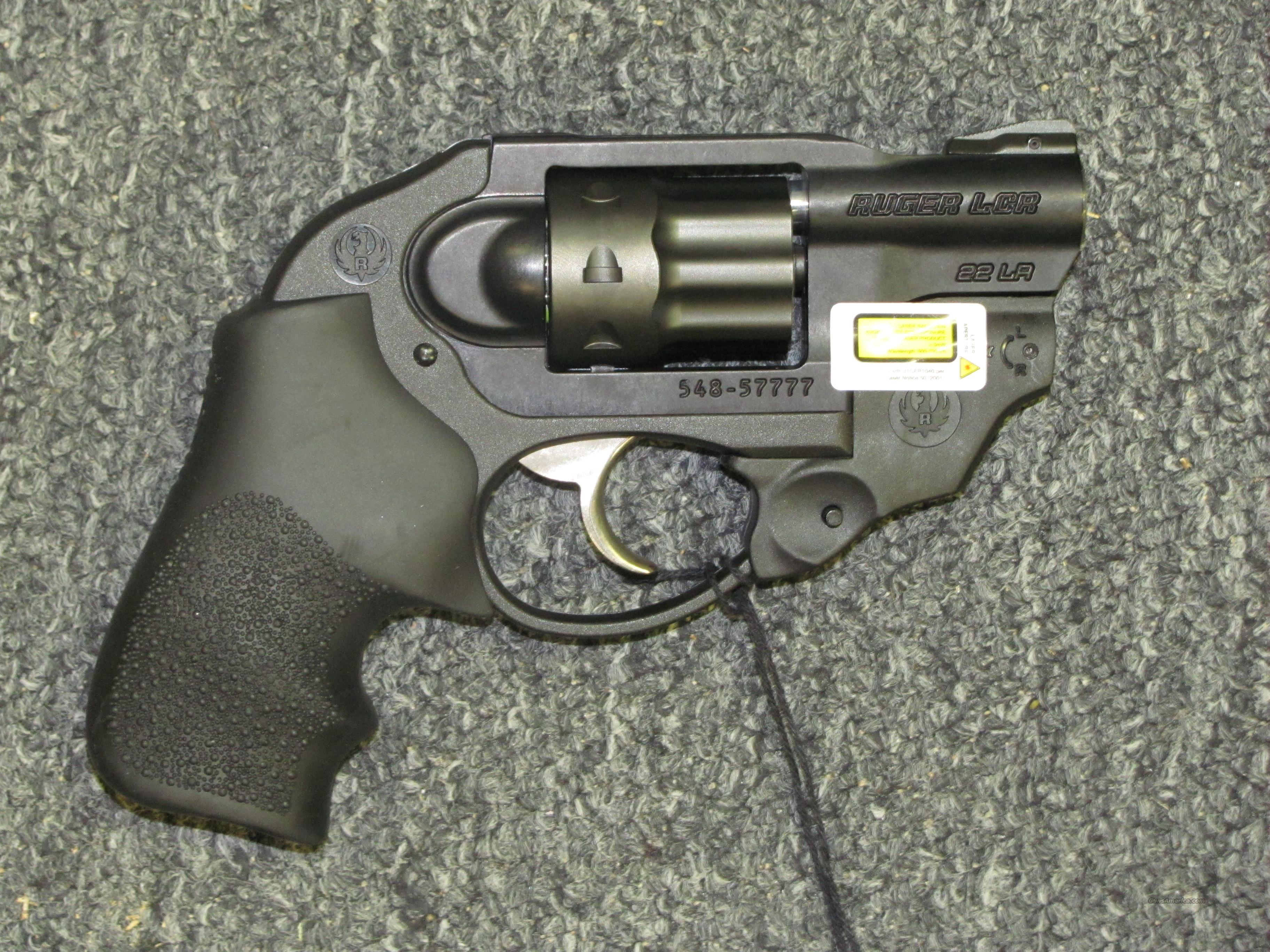 LCR w/Laser Max (.22 lr)  Guns > Pistols > Ruger Double Action Revolver > LCR