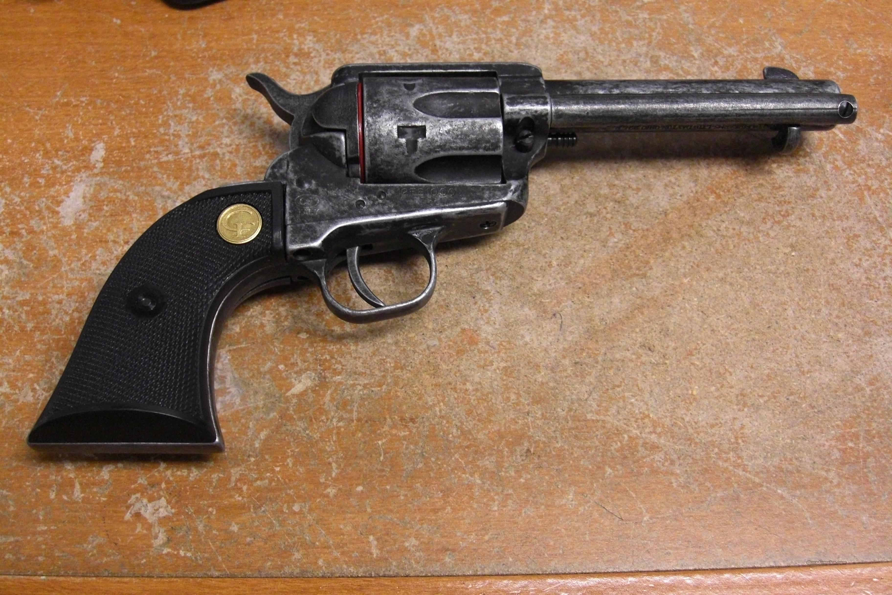 1873-22 w/antiqued finish  Guns > Pistols > Chiappa Pistols & Revolvers > .22 Cal Other