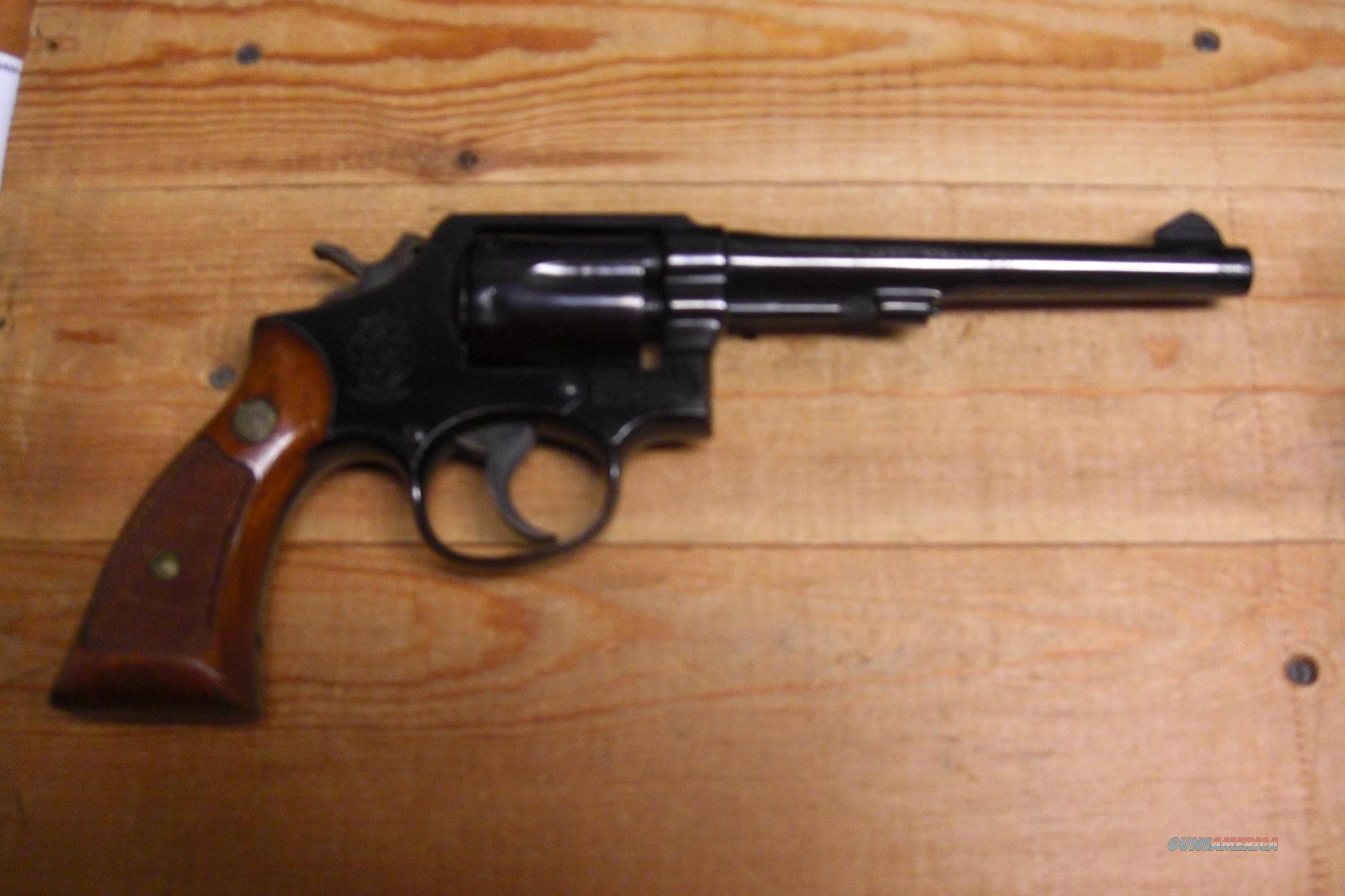 Smith & Wesson 10-5 w/pinned bbl  Guns > Pistols > Smith & Wesson Revolvers > Full Frame Revolver