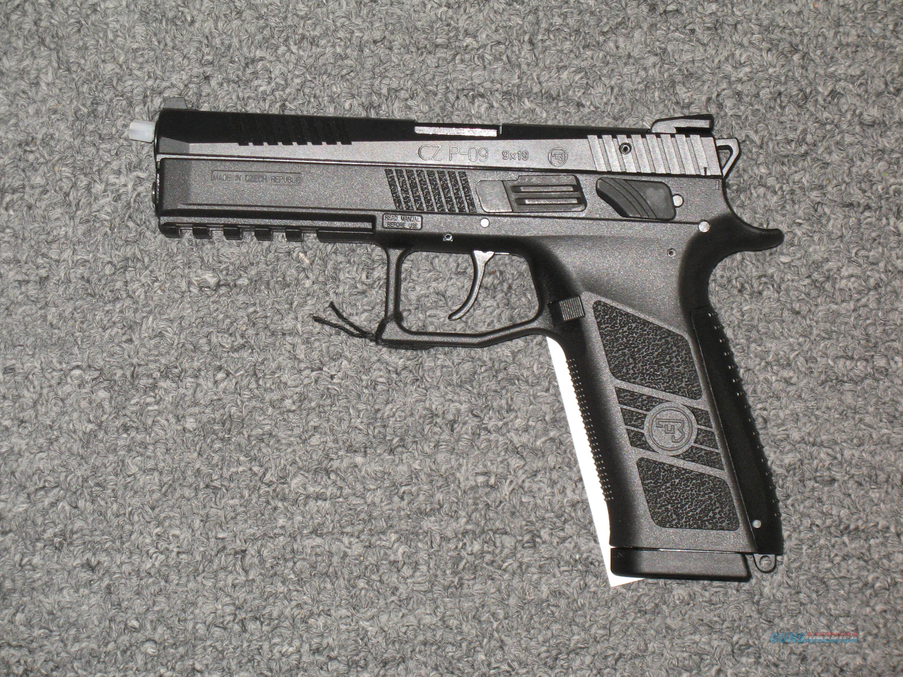 CZ P-09 9mm with two 19 round magazines  Guns > Pistols > CZ Pistols