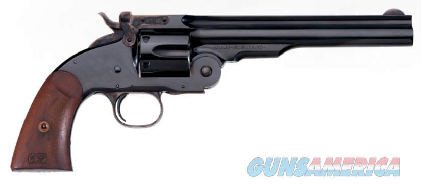 Uberti 1875 No. 3 2nd Model Top Break (348578)  Guns > Pistols > Uberti Pistols > Ctg.