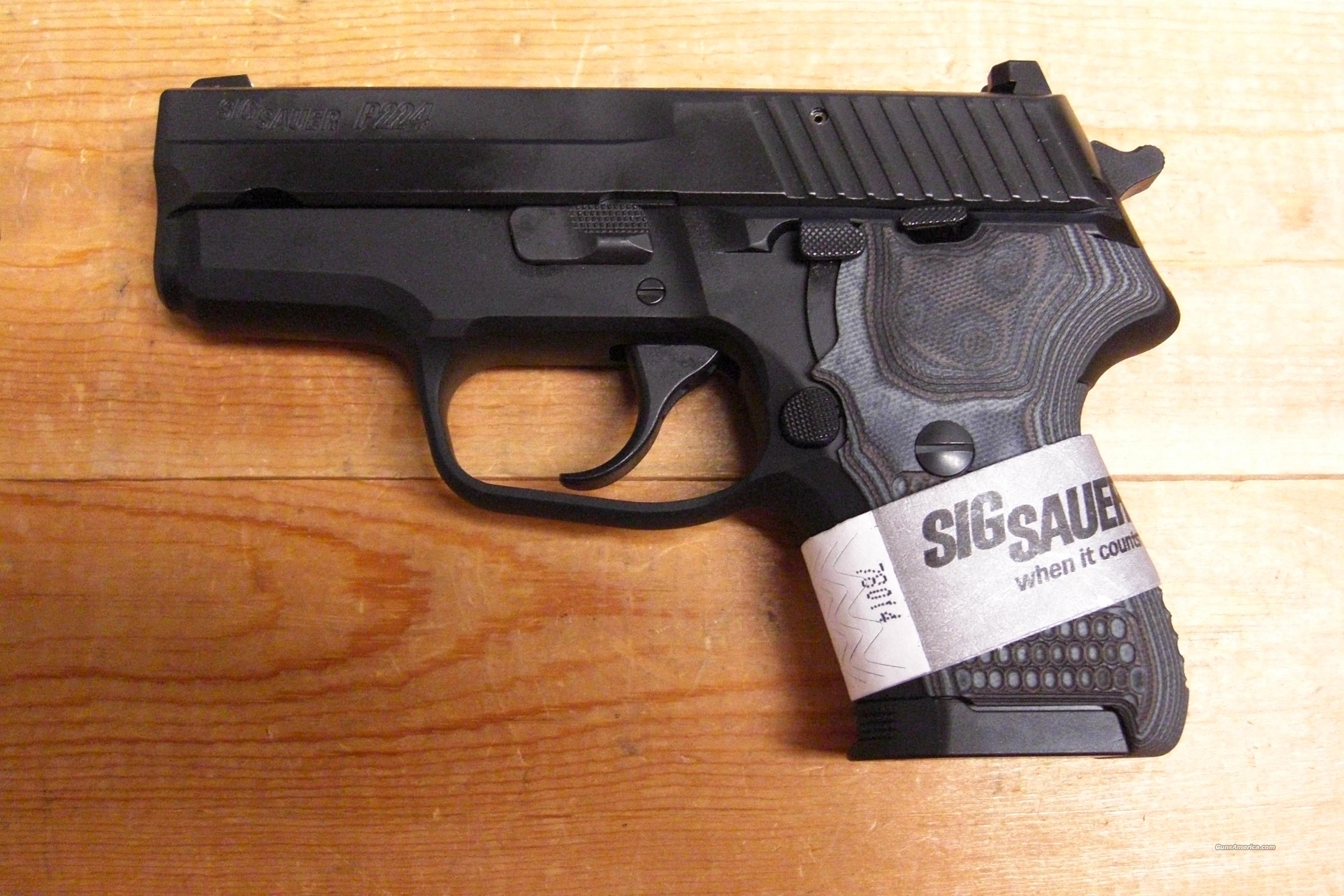 P224 Extreme  w/night sights  Guns > Pistols > Sig - Sauer/Sigarms Pistols > Other