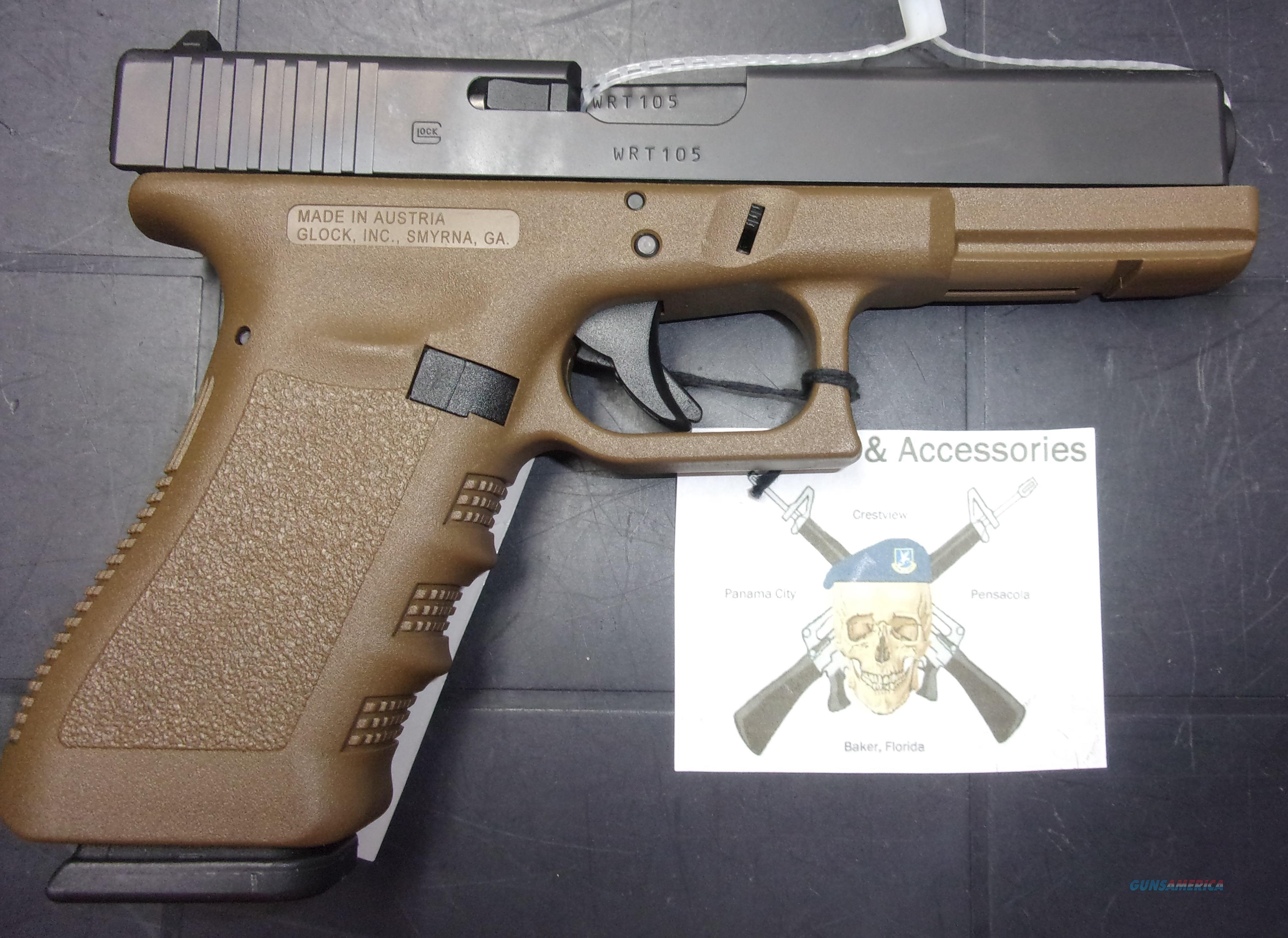 Glock 22 w/FDE Frame  Guns > Pistols > Glock Pistols > 22