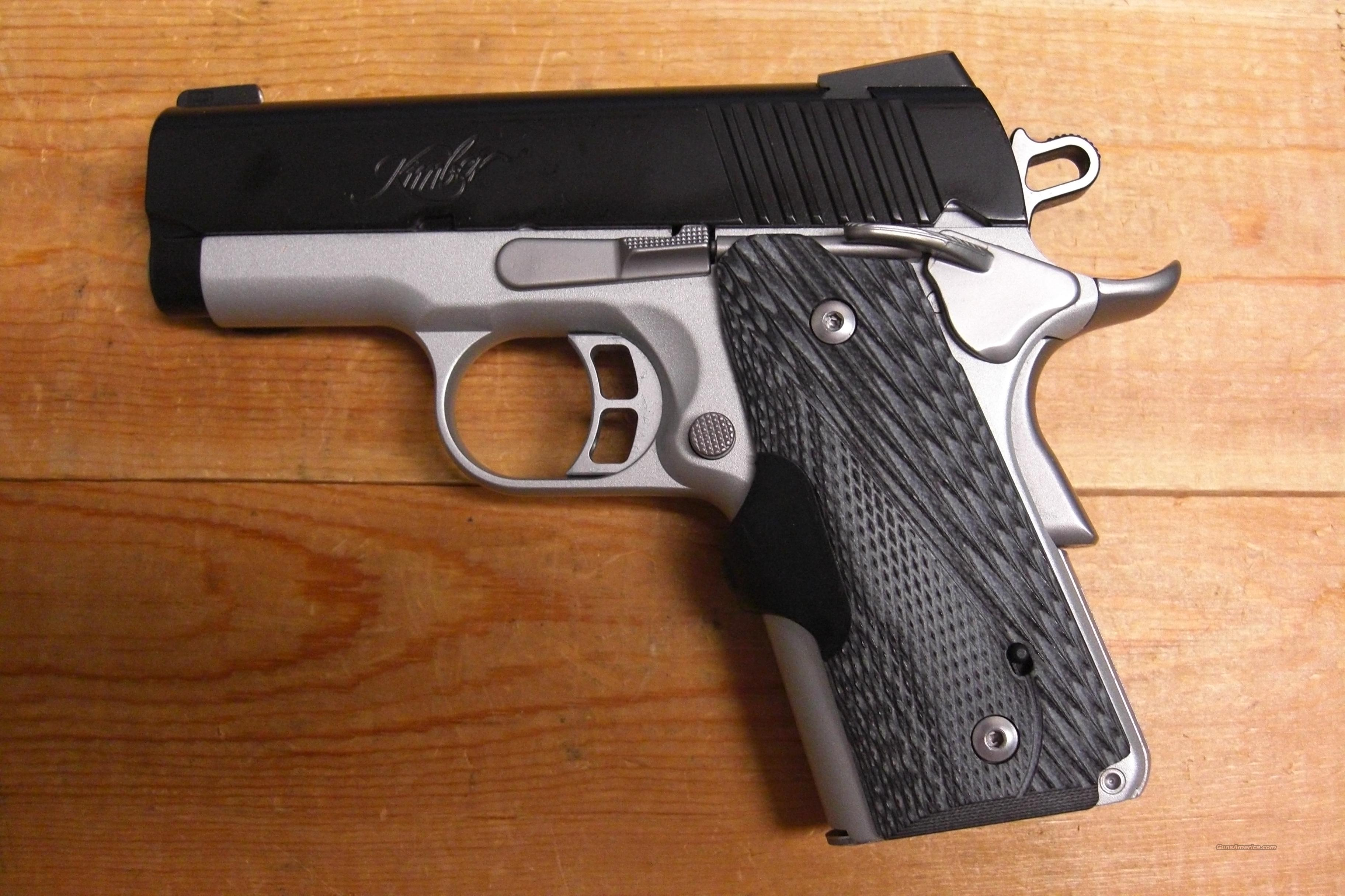Master Carry Ultra w/Laser Grip, night sights  Guns > Pistols > Kimber of America Pistols
