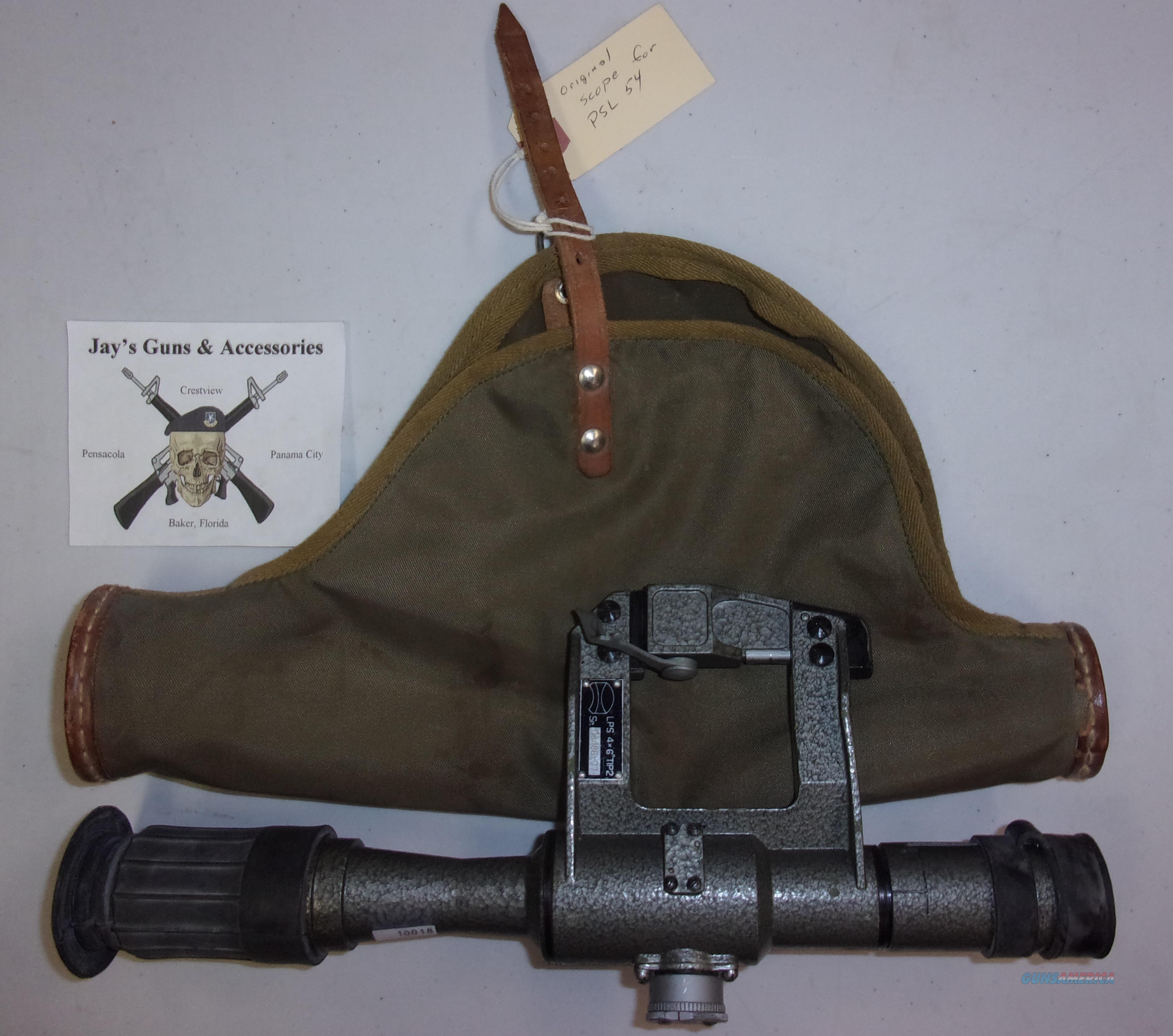 Original Scope for PSL 54  Non-Guns > Scopes/Mounts/Rings & Optics > Rifle Scopes > Fixed Focal Length