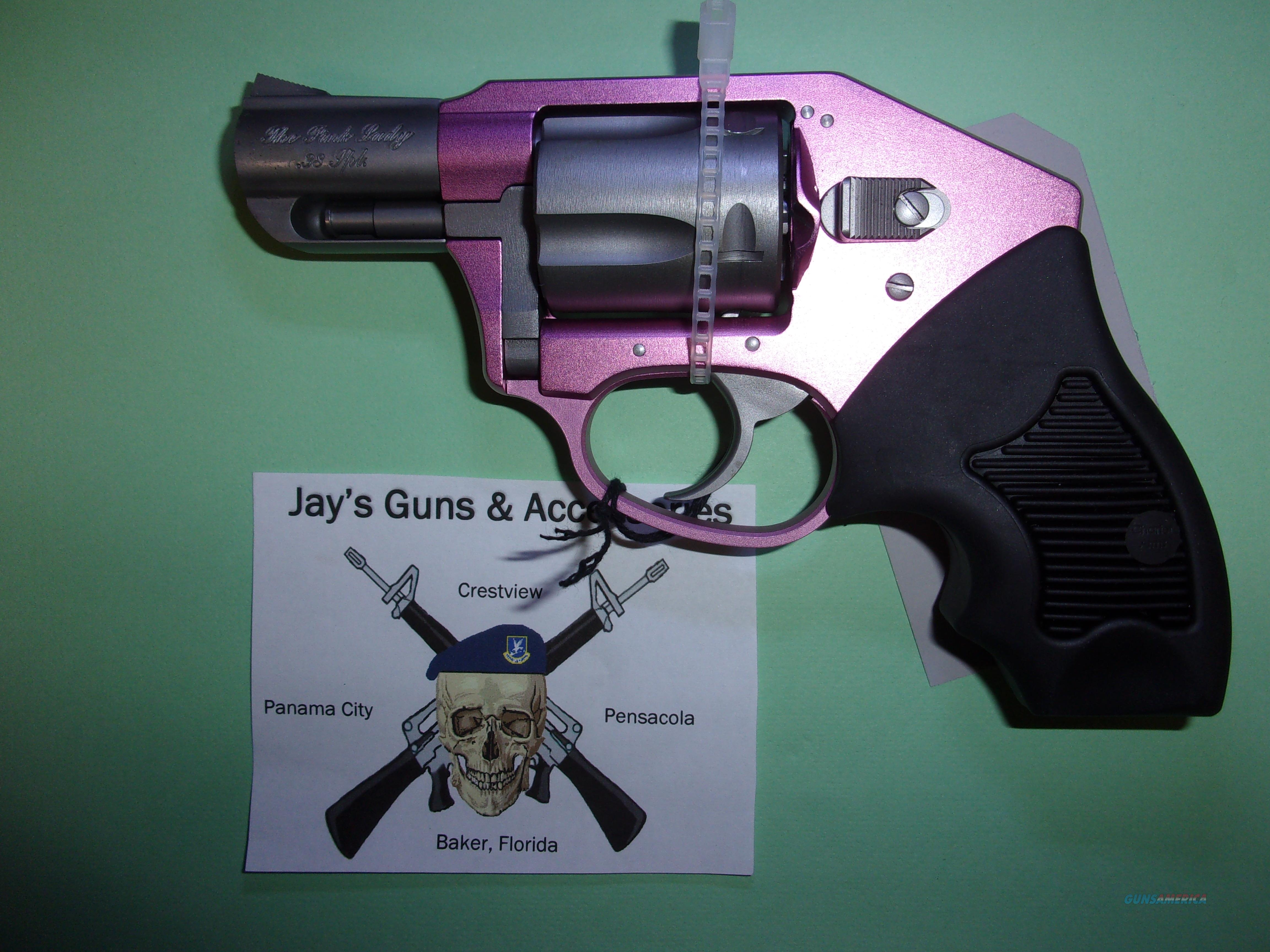 Charter Arms The Pink Lady Off Duty (53851) w/Pink Anodized Frame  Guns > Pistols > Charter Arms Revolvers