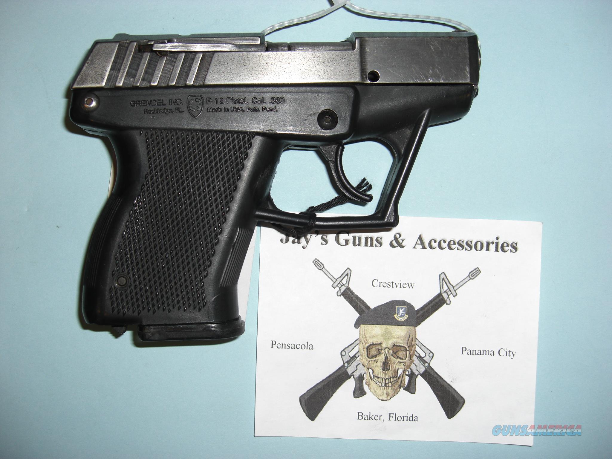 Grendel, Inc P-12  Guns > Pistols > Grendel Pistols