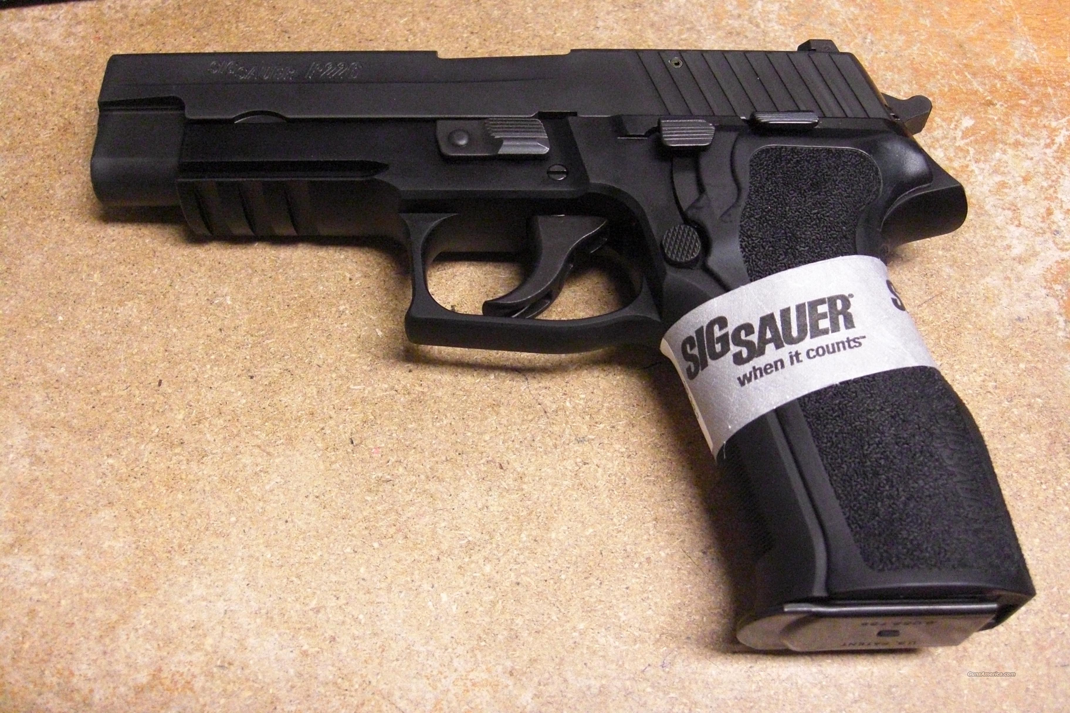 P226R With Night Sights  Guns > Pistols > Sig - Sauer/Sigarms Pistols > P226