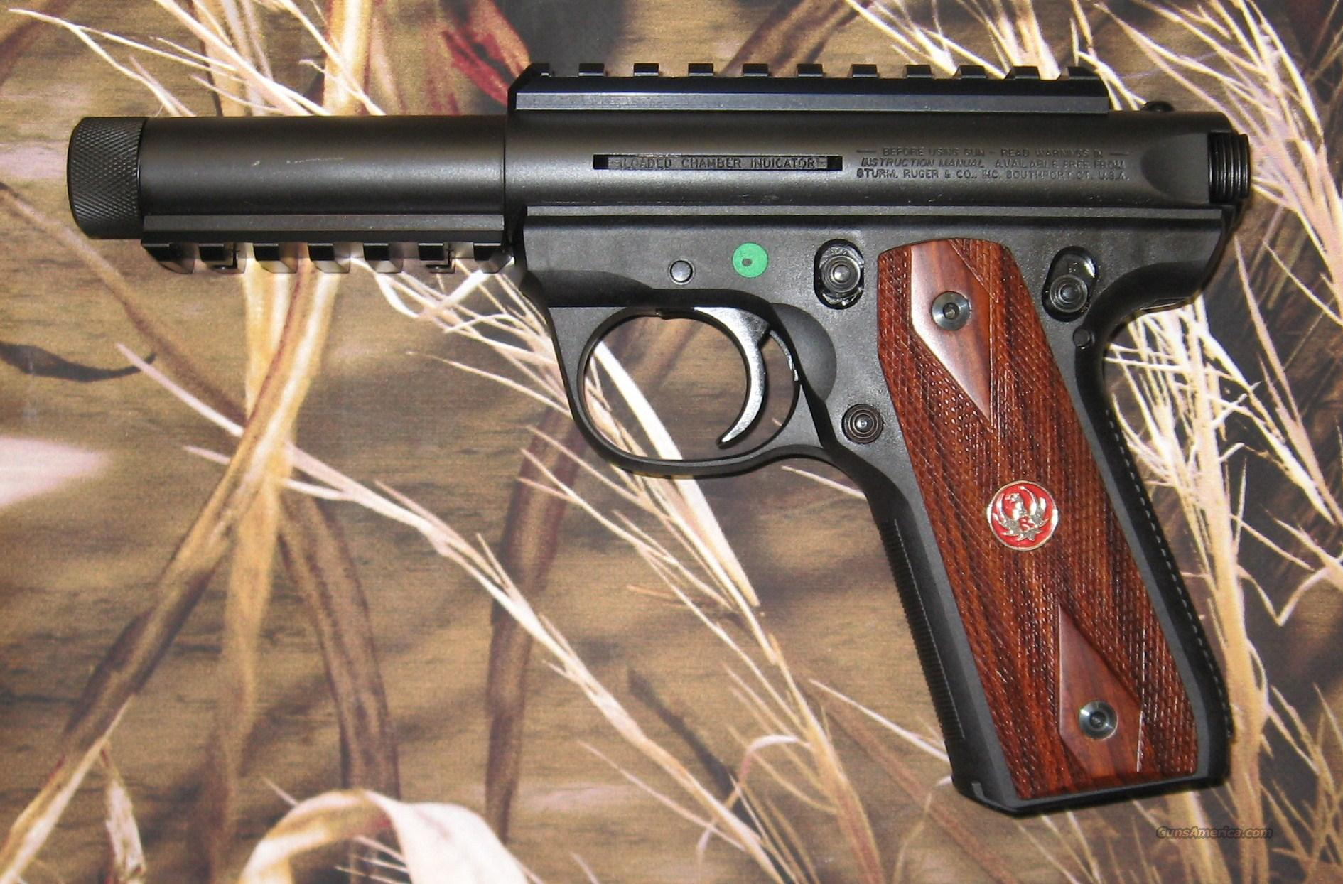 Ruger 22/45 MKIII Threaded  Guns > Pistols > Ruger Semi-Auto Pistols > Mark I & II Family