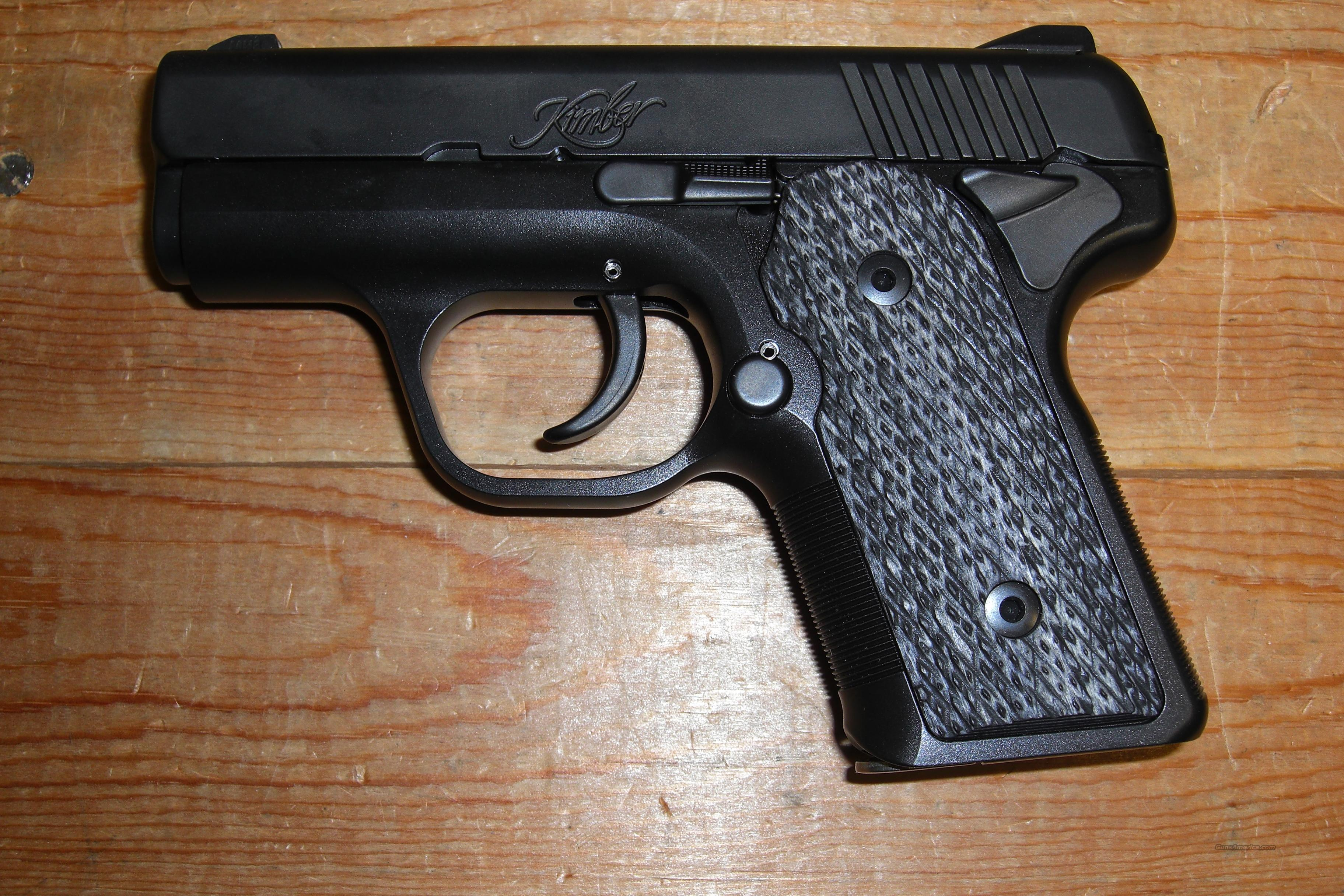Solo Carry DC all black, w/night sights  Guns > Pistols > Kimber of America Pistols
