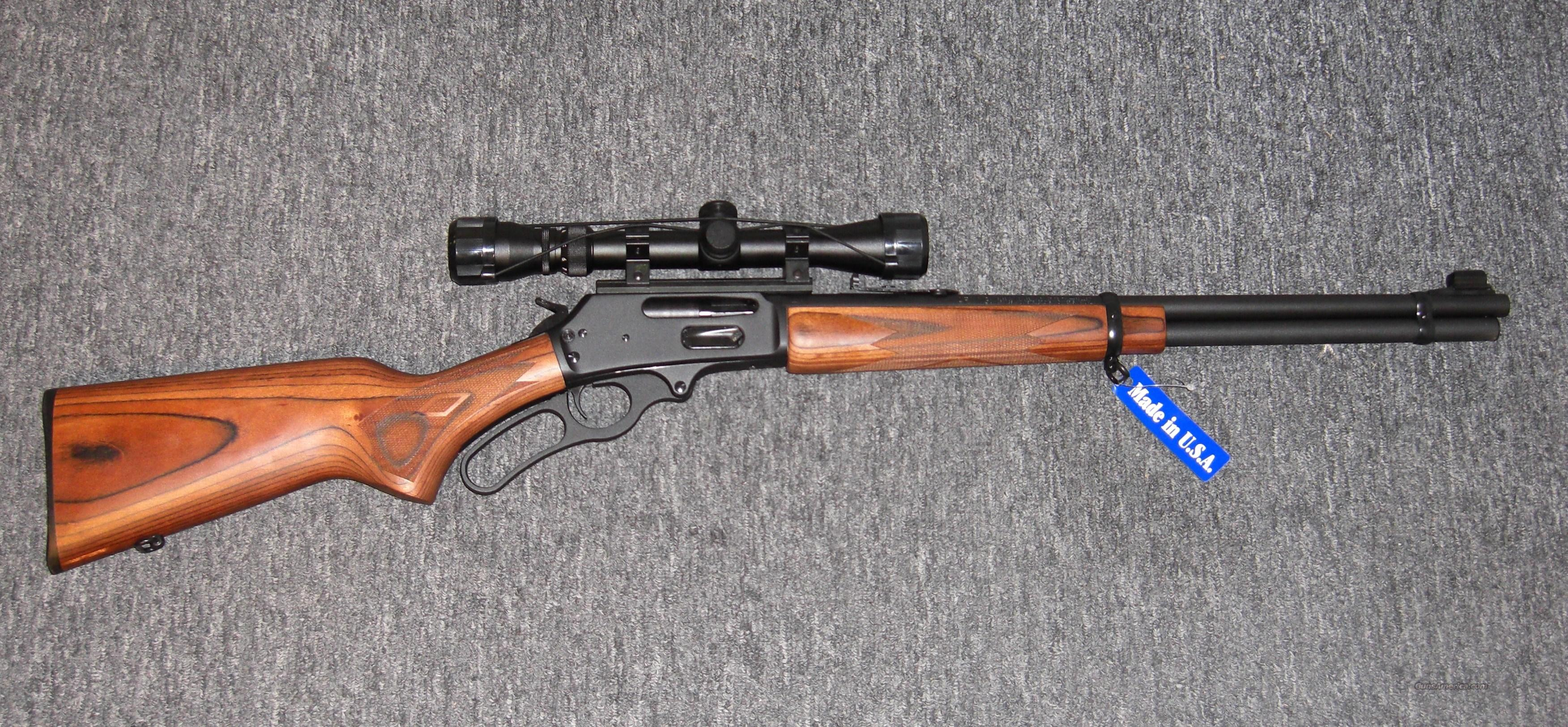 336W w/3-9x40 scope  Guns > Rifles > Marlin Rifles > Modern > Lever Action