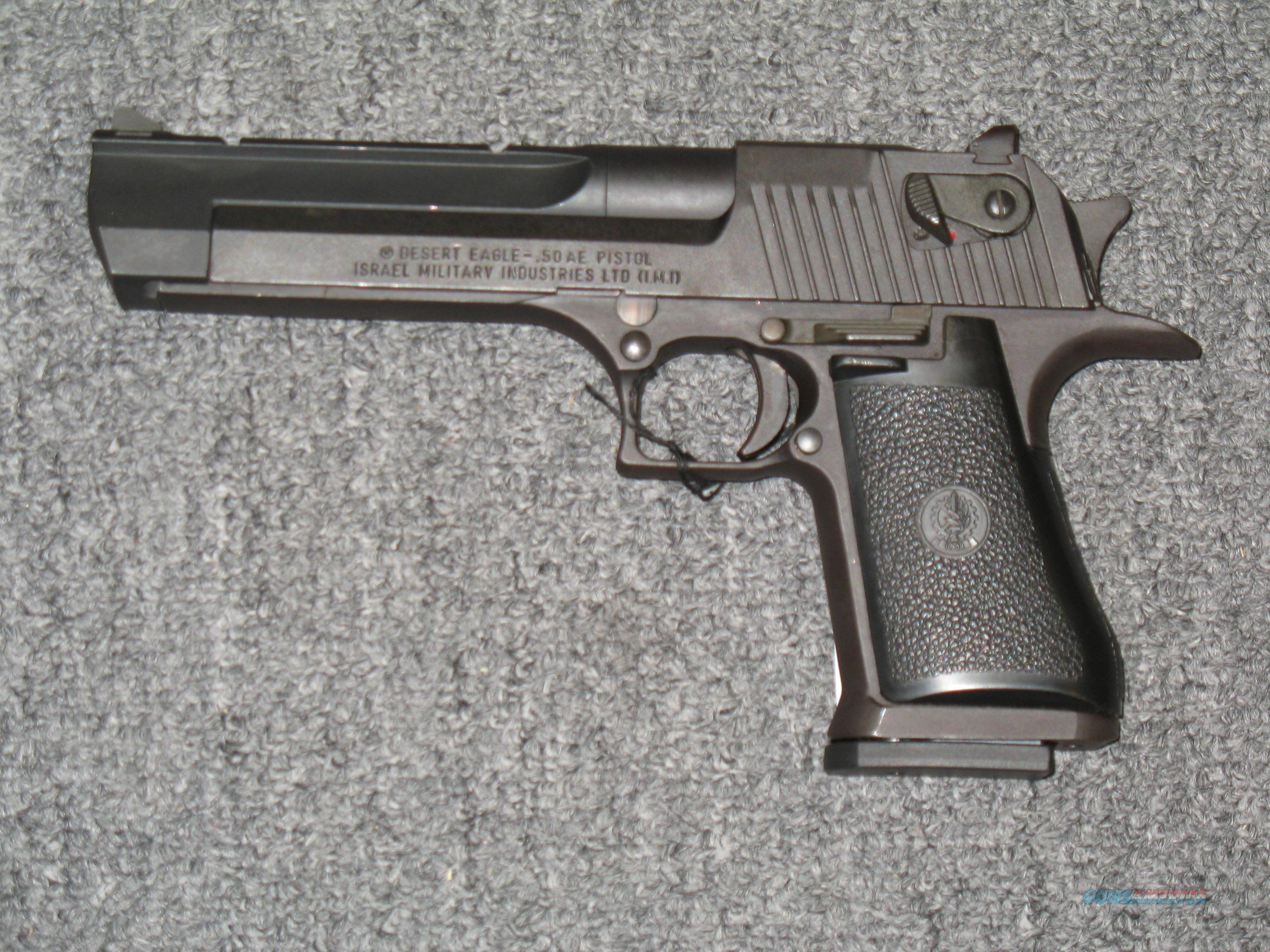 Desert Eagle  Made in Isreal .50AE  Guns > Pistols > Magnum Research Pistols