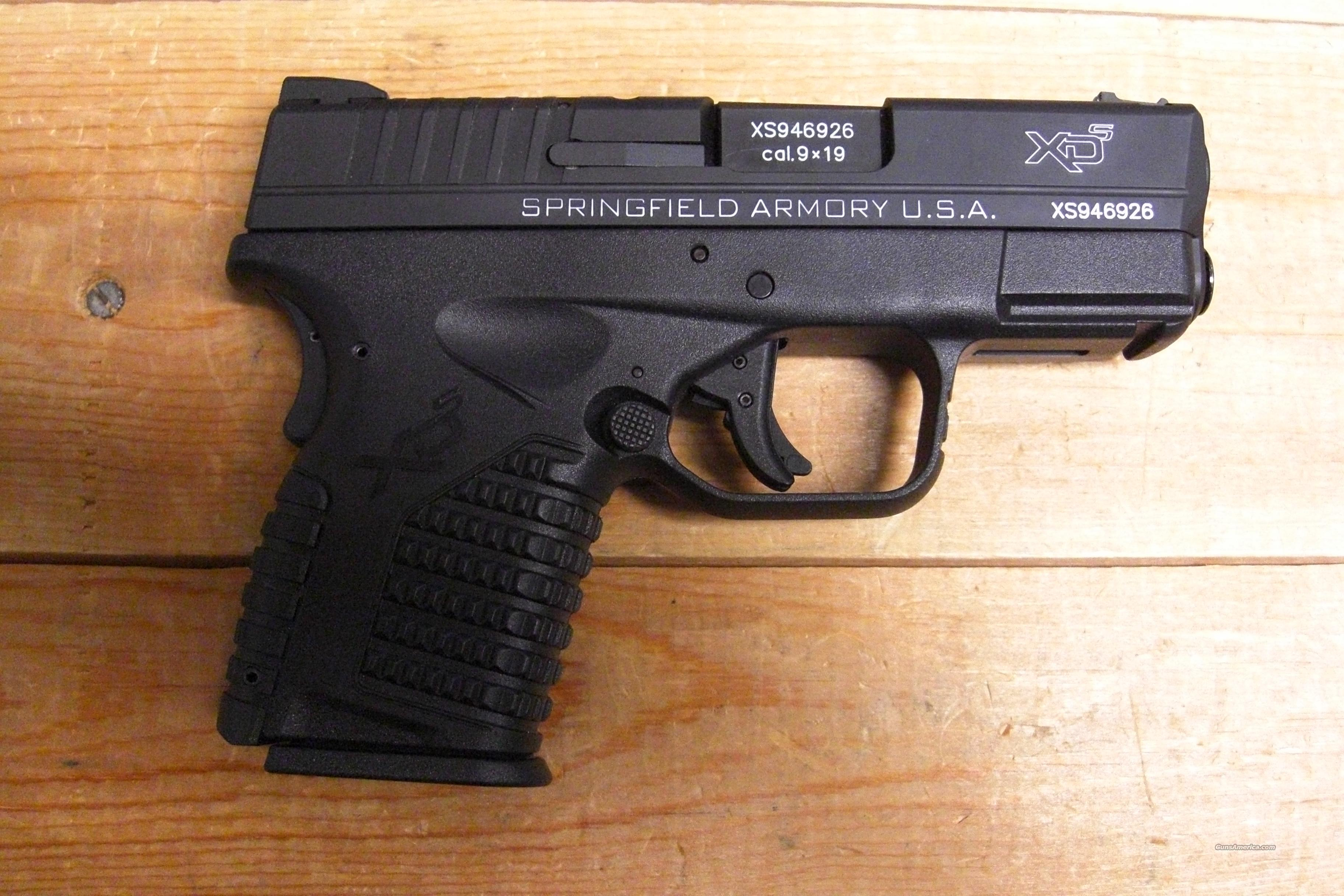 XDS-9 w/lettering highlighted in white  Guns > Pistols > Springfield Armory Pistols > XD-S