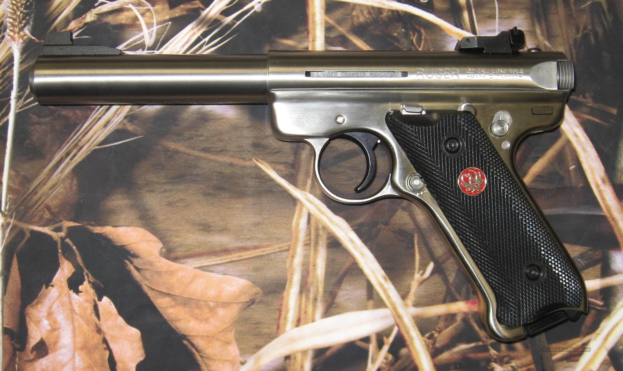 Ruger Mark III Target Stainless  Guns > Pistols > Ruger Semi-Auto Pistols > Mark I & II Family