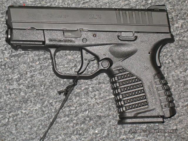 XDS-45 (3.3) (all black)  Guns > Pistols > Springfield Armory Pistols > XD (eXtreme Duty)