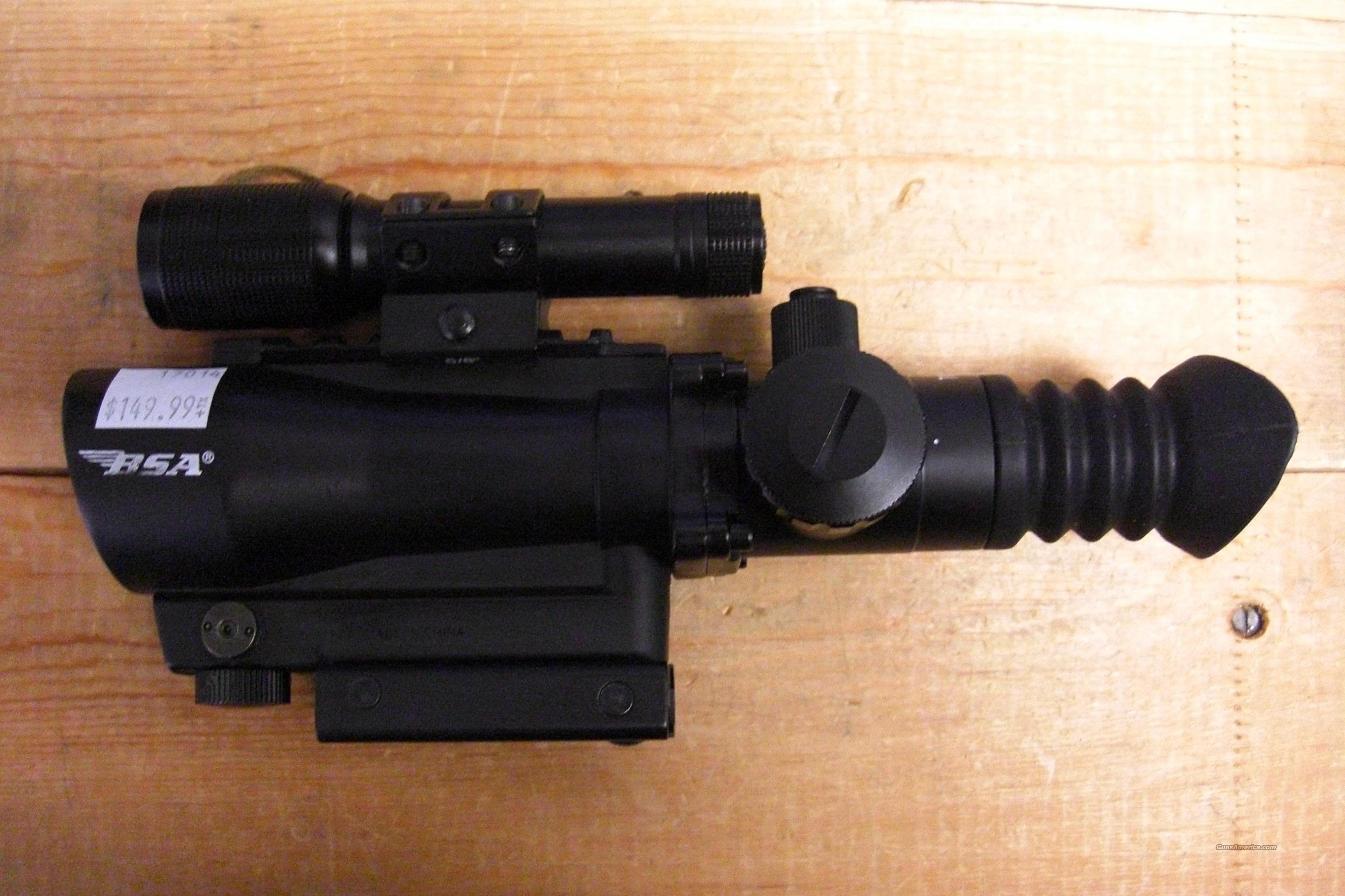 BSA Tactical Weapon Illuminated Sight  Non-Guns > Scopes/Mounts/Rings & Optics > Tactical Scopes > Red Dot