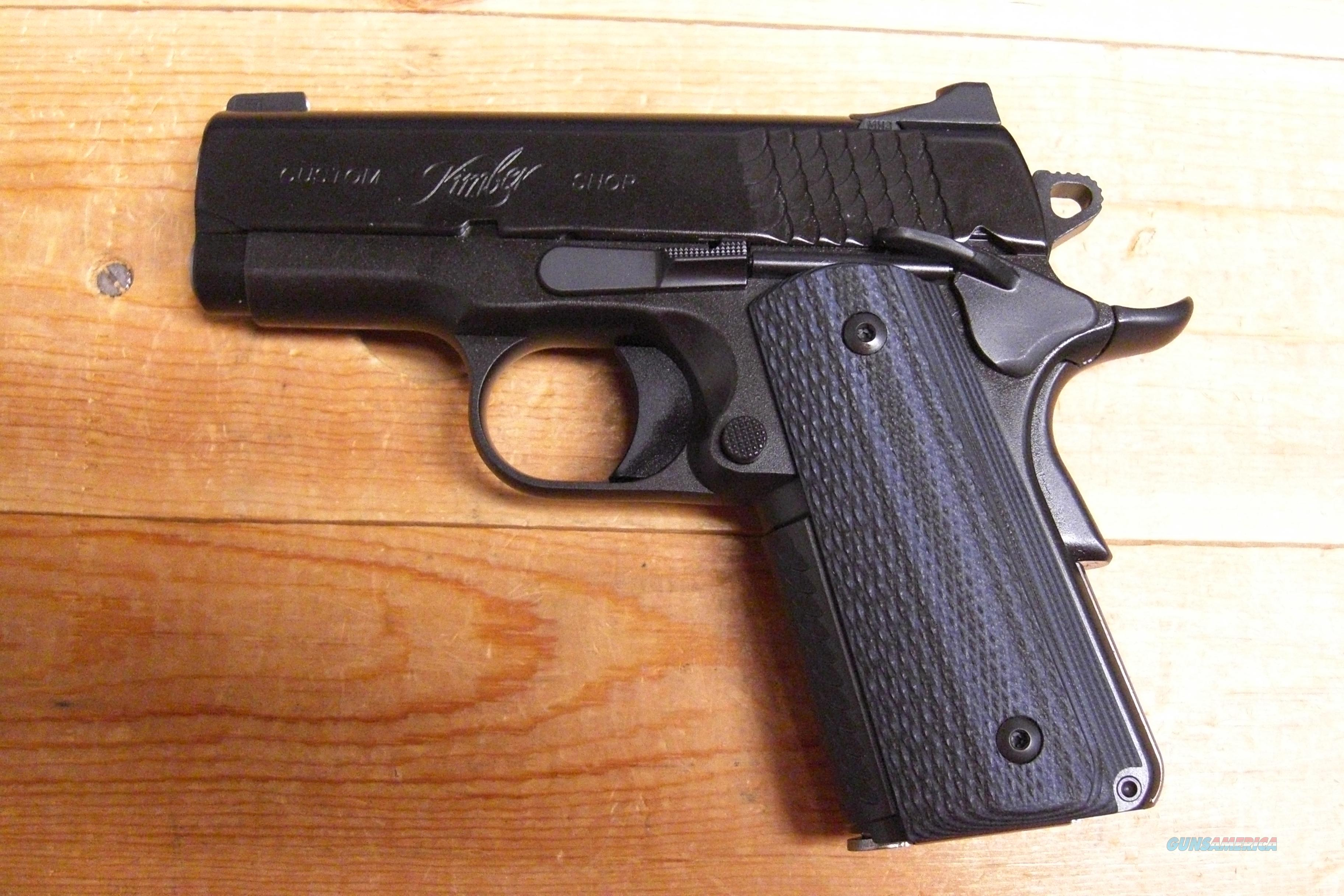Kimber Super Carry Ultra HD  Guns > Pistols > Kimber of America Pistols