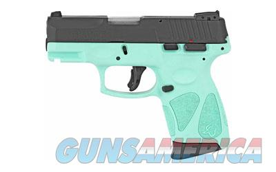 Taurus G2C (1-G2C931-12C) w/Cyan Frame  Guns > Pistols > Taurus Pistols > Semi Auto Pistols > Polymer Frame