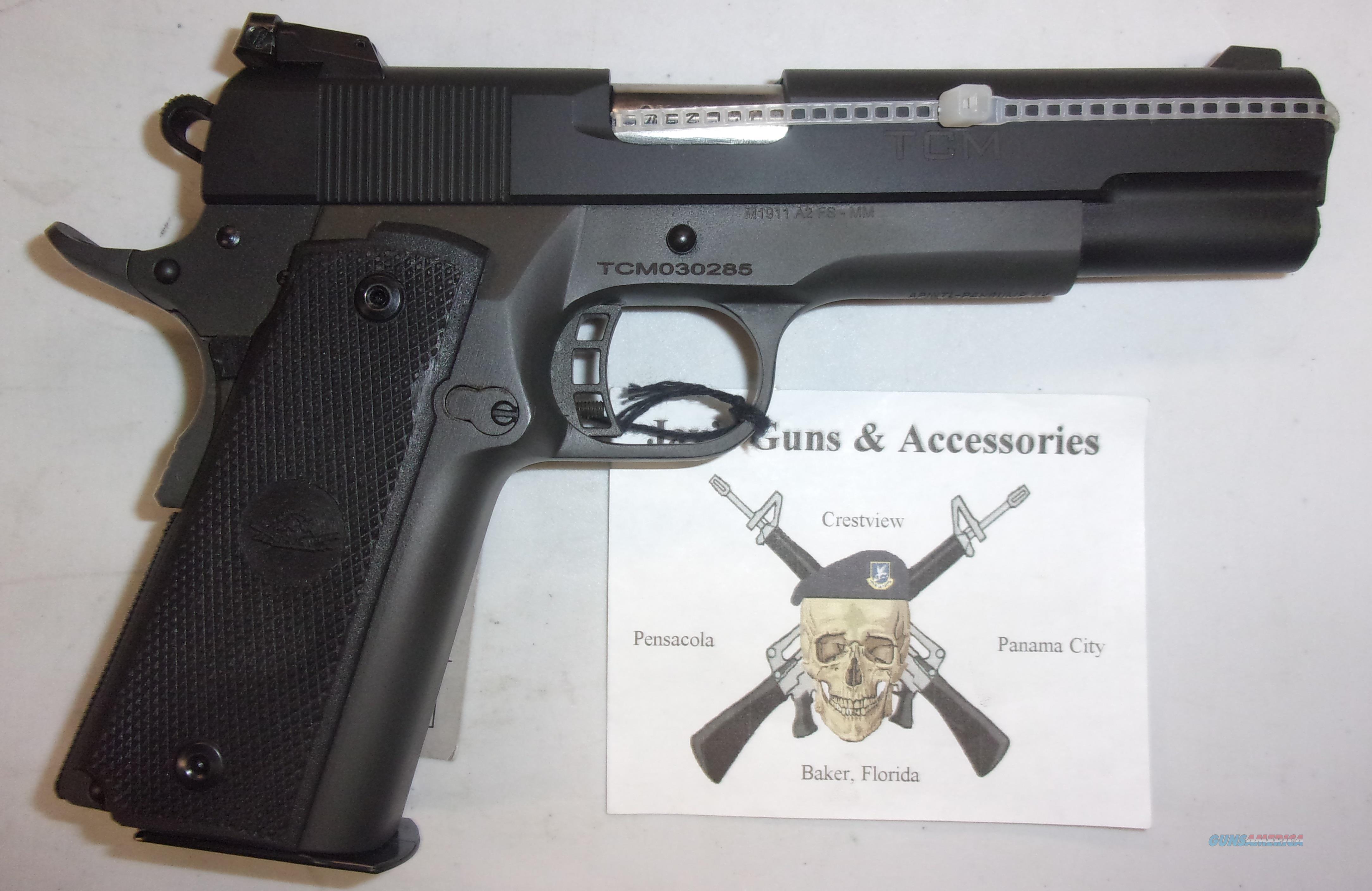 Rock Island Armory M1911 A2 FS .22TCM / 9mm  Guns > Pistols > Rock Island Armory Pistols > Rock Island
